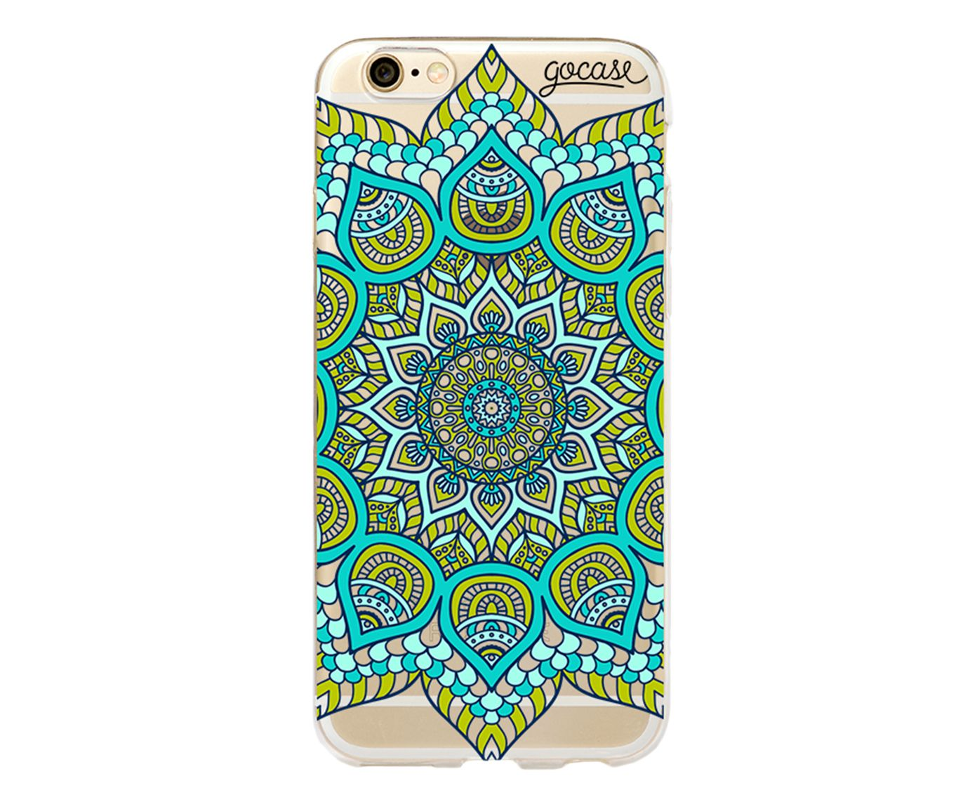 Case Green Mandala - Para iPhone 6 Plus | Westwing.com.br