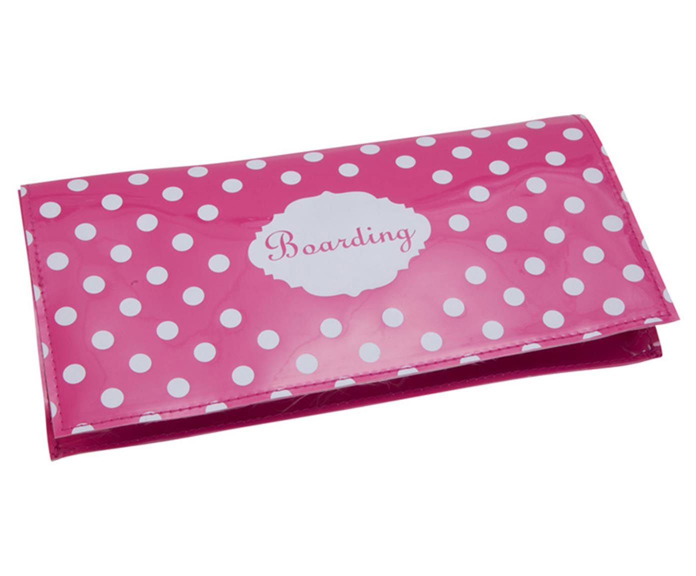 Carteira Girly Rosa - 24x13cm | Westwing.com.br