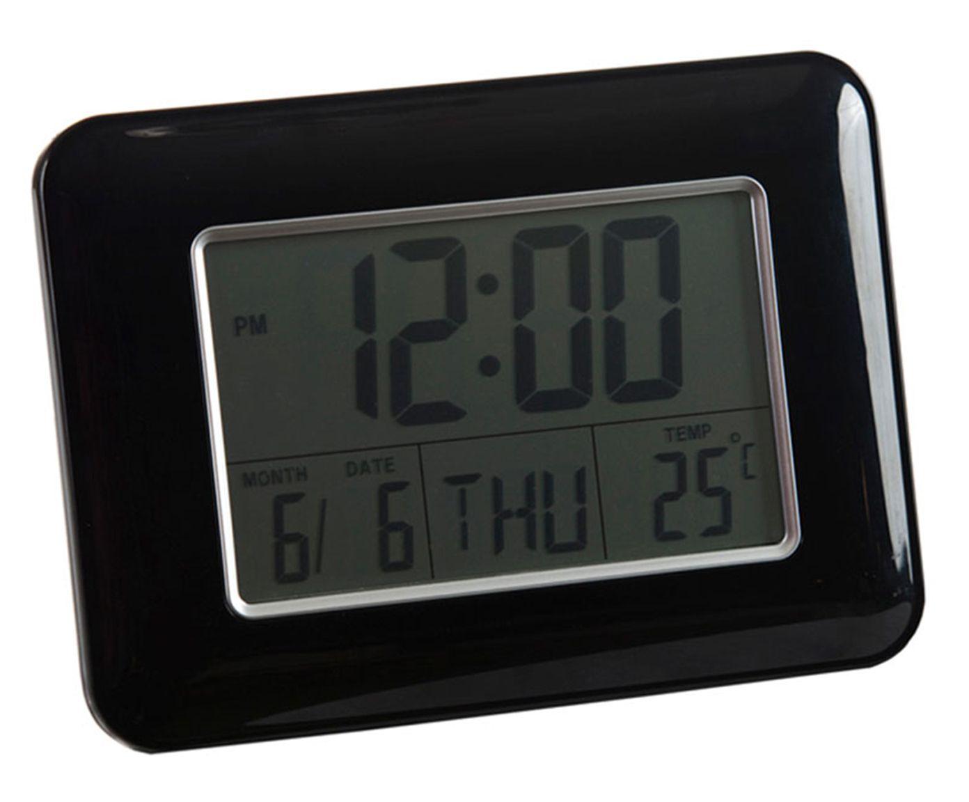 Relógio Despertador Efrat - Preto | Westwing.com.br