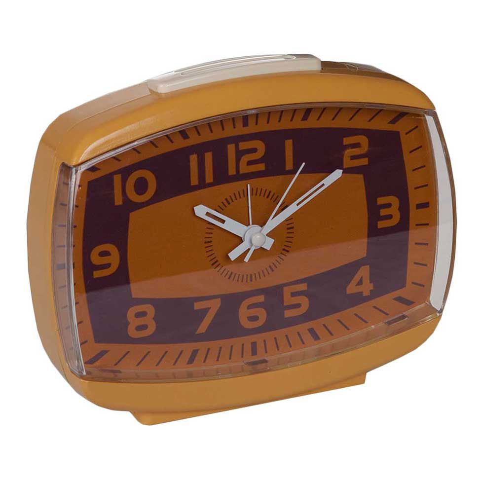 Relógio de Mesa Retrô Brown Line | Westwing.com.br