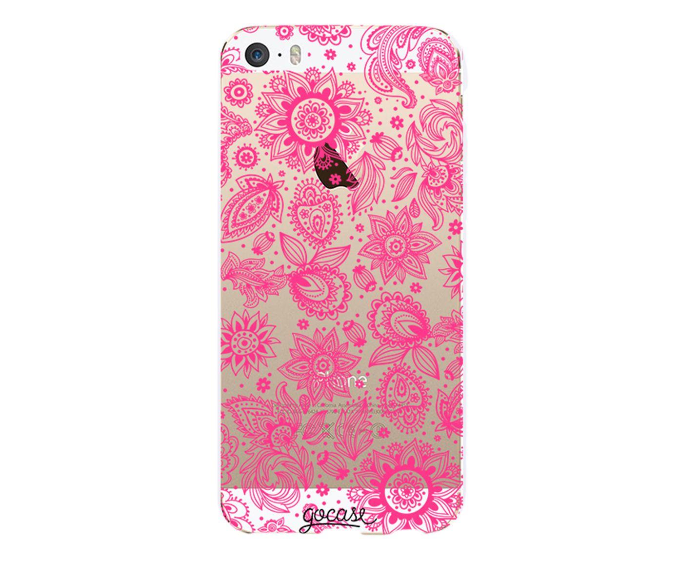 Case Renda Pink - Para iPhone 5C | Westwing.com.br