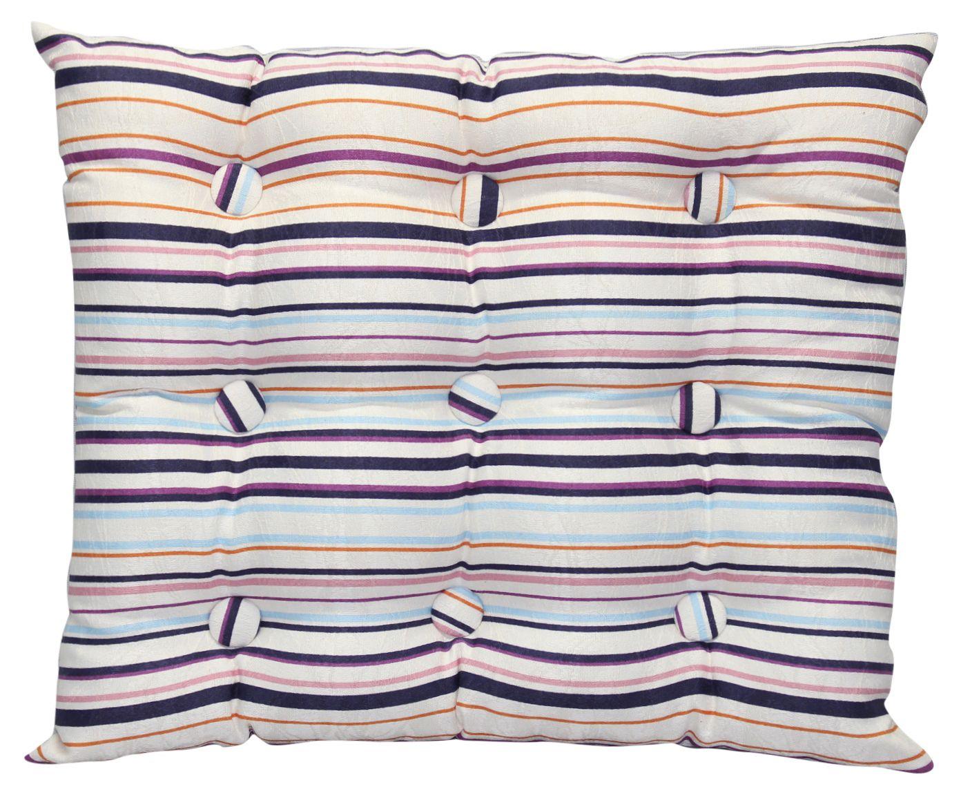 Almofada Zabuton Marble Striped Bege - 40x50cm | Westwing.com.br