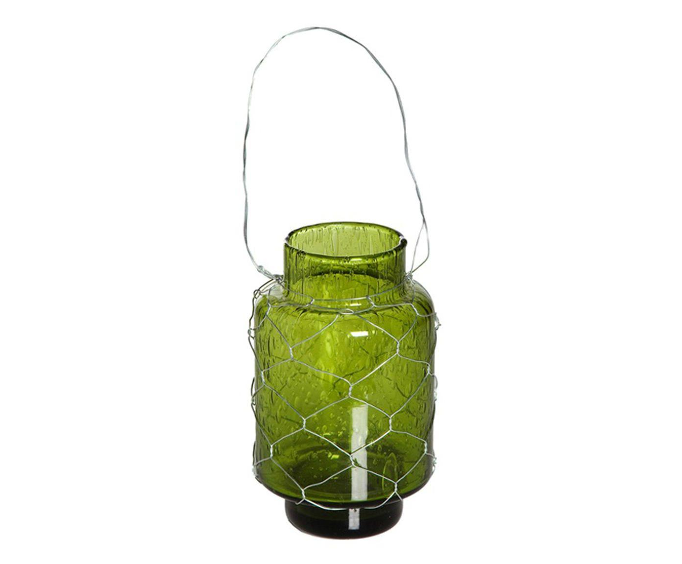 Porta-Velas Handle Bubble - Verde | Westwing.com.br