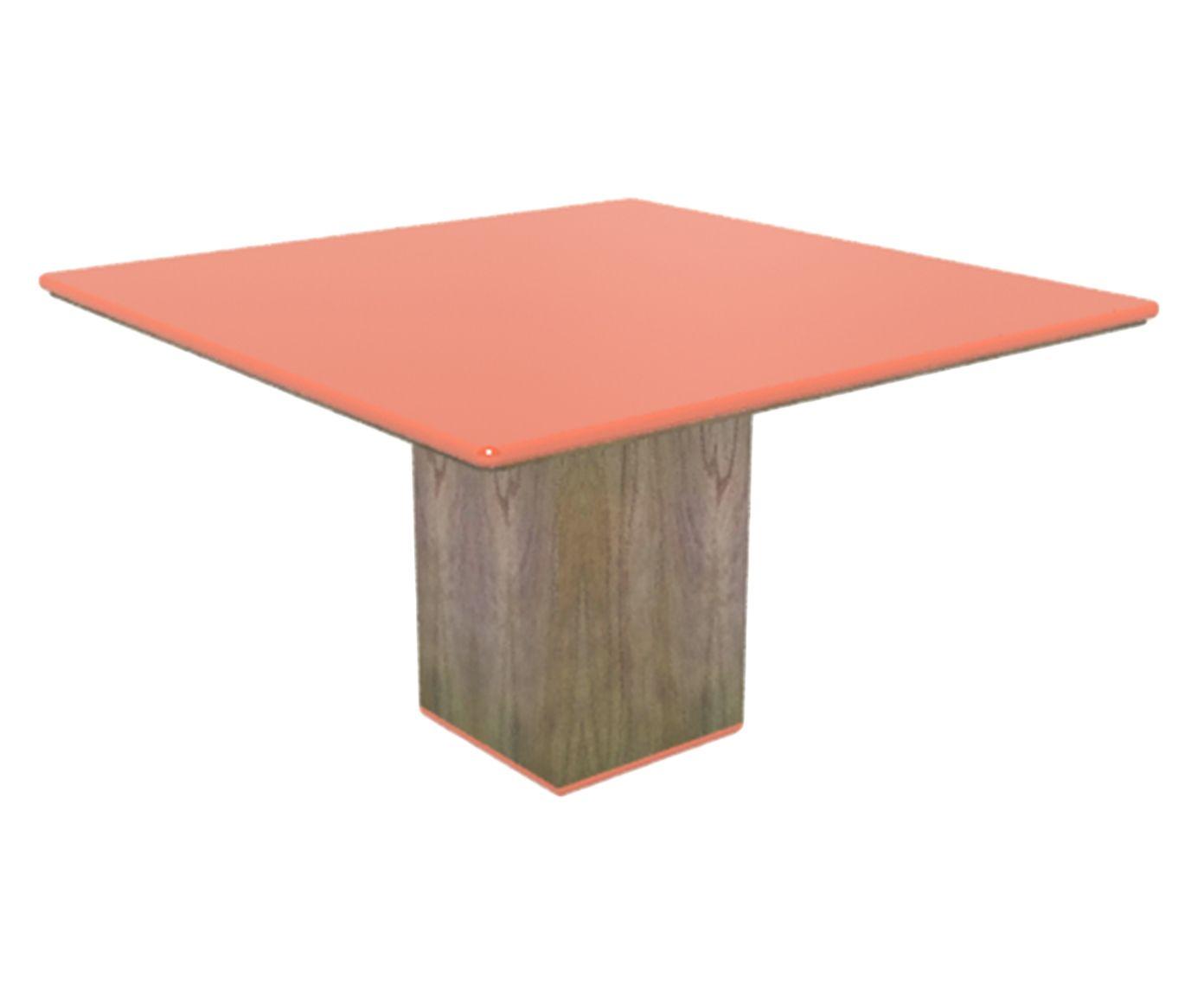 Mesa de Jantar Cananeia Vangarda - 100x100cm | Westwing.com.br