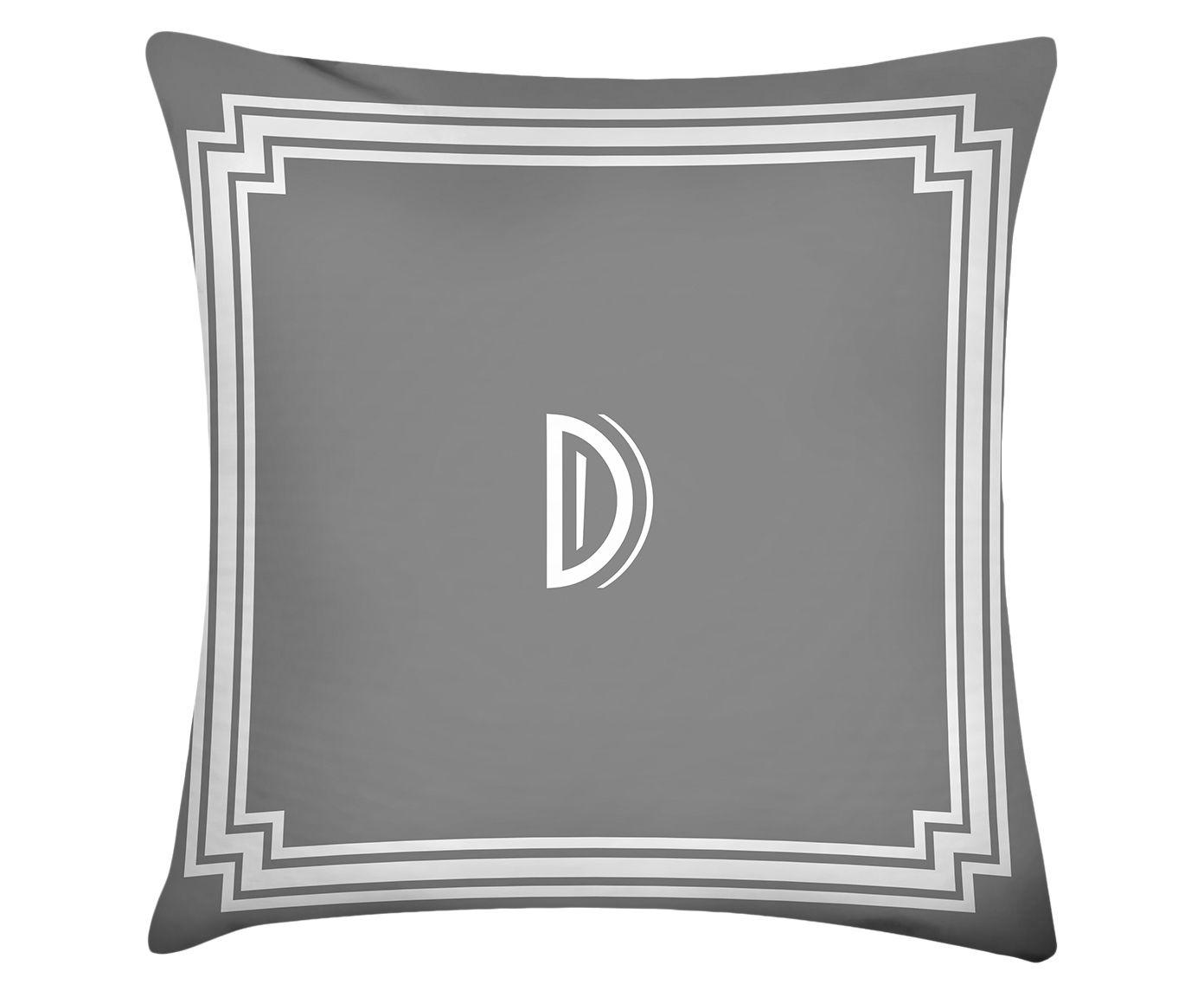 Almofada Letter D - 45x45cm | Westwing.com.br
