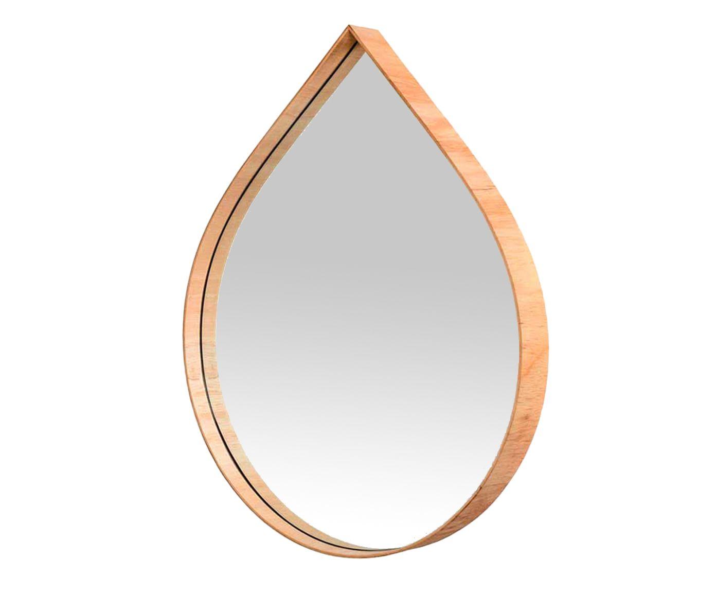 Espelho de Parede Gota Orvalho - 40X50X6cm   Westwing.com.br