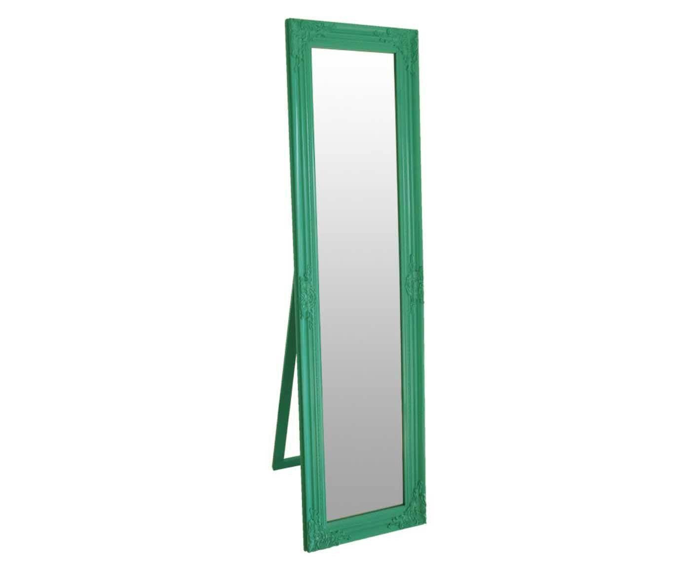 Espelho de Piso Baroque Frame Verde - 43,5x164cm | Westwing.com.br