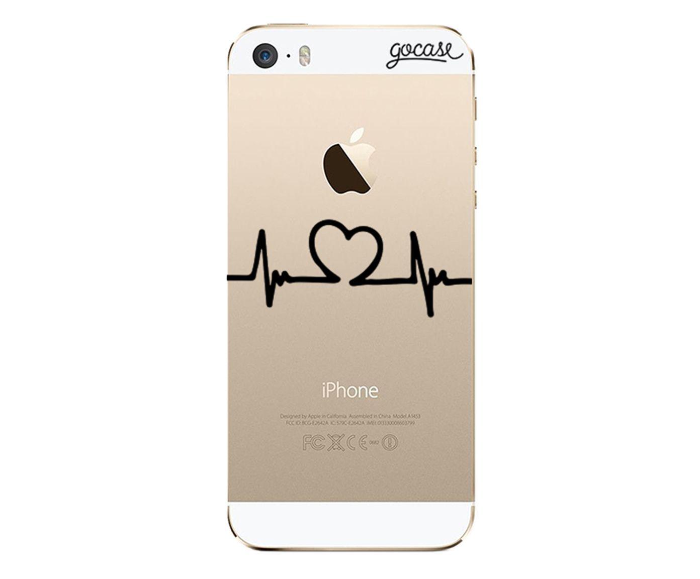 Case Sinal de Amor - Para iPhone 5C | Westwing.com.br