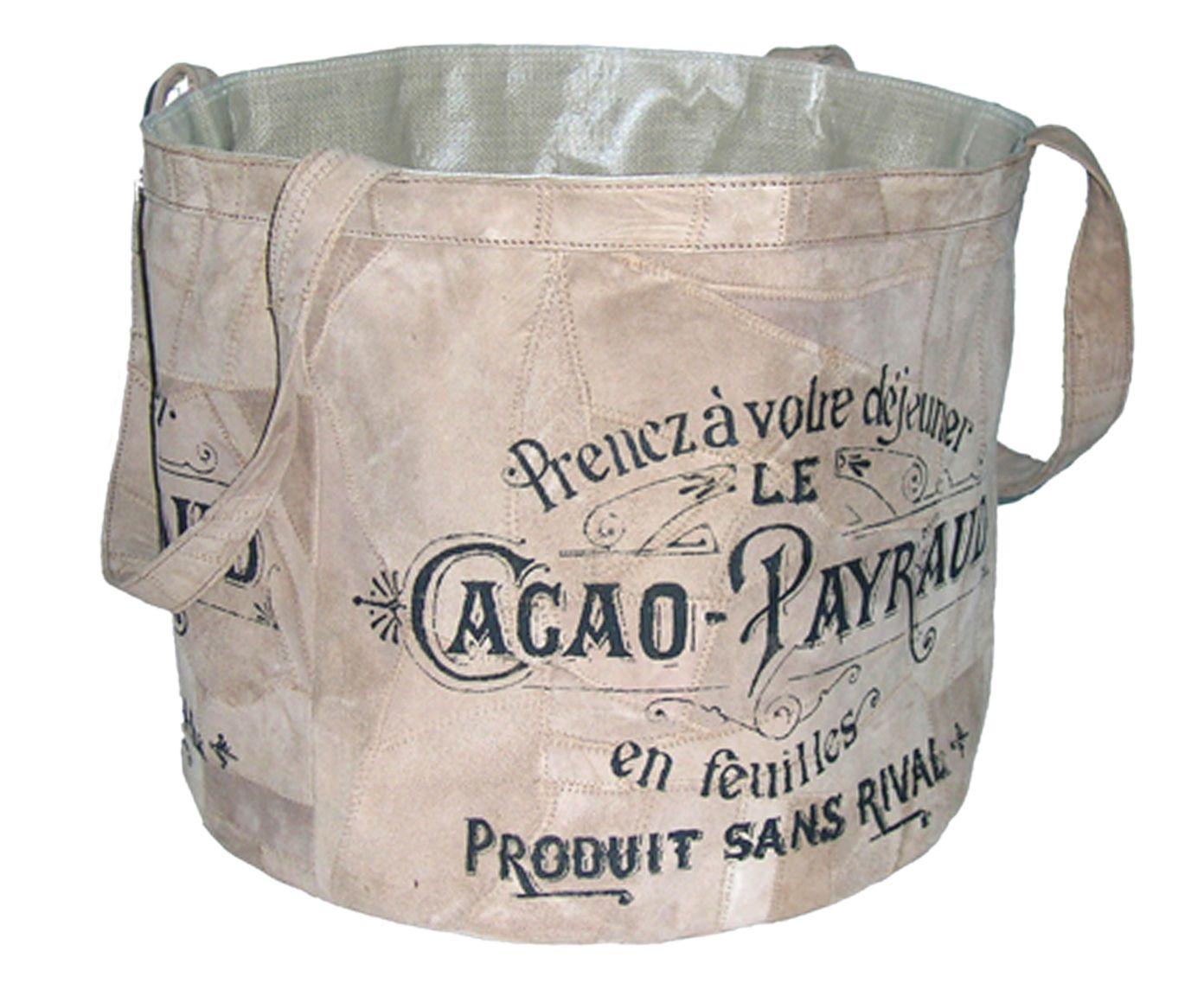 Bolsa Sacola Cacao Payroud | Westwing.com.br