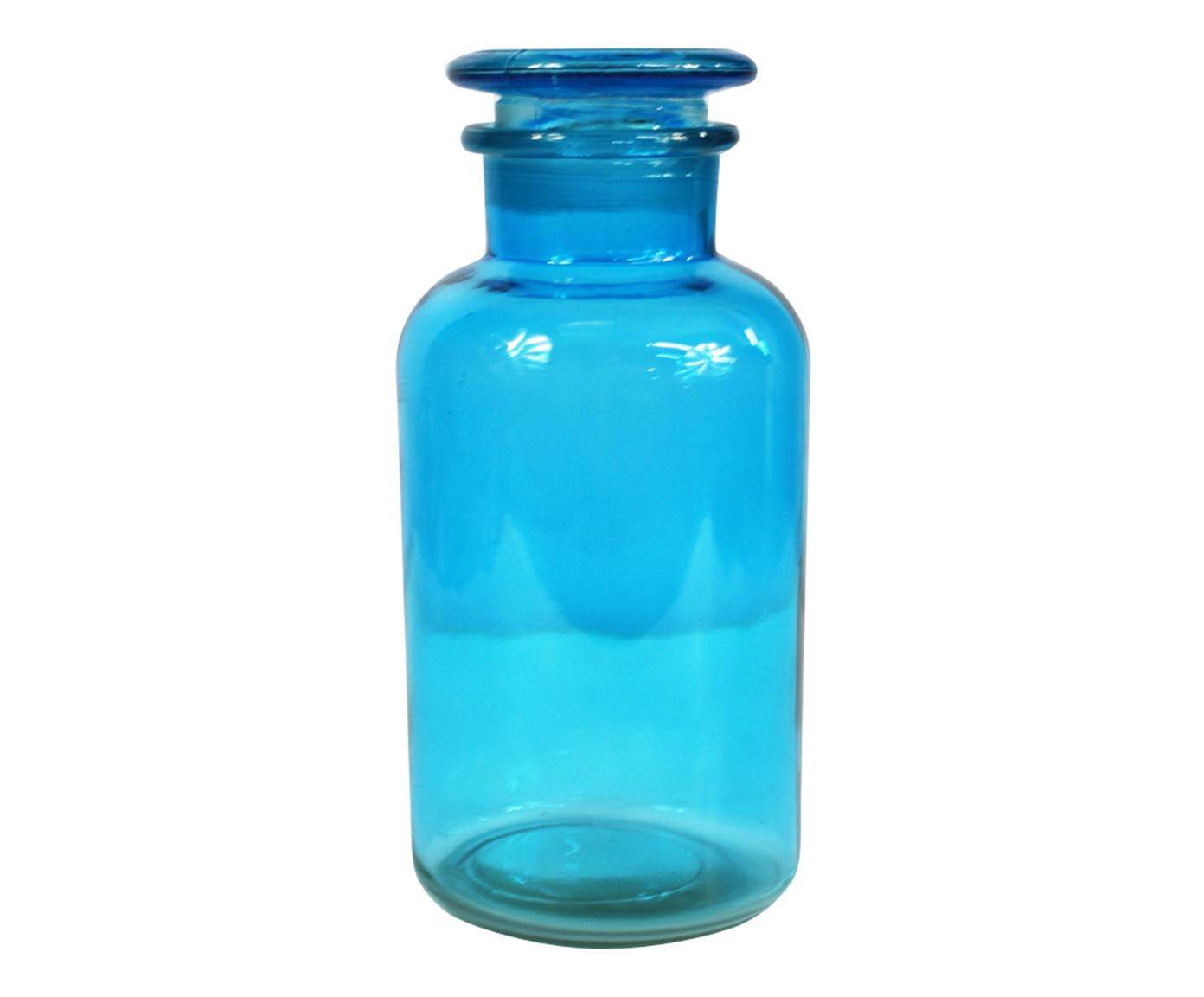 Pote Decorativo Crazy Chemistry Azul - 29cm | Westwing.com.br