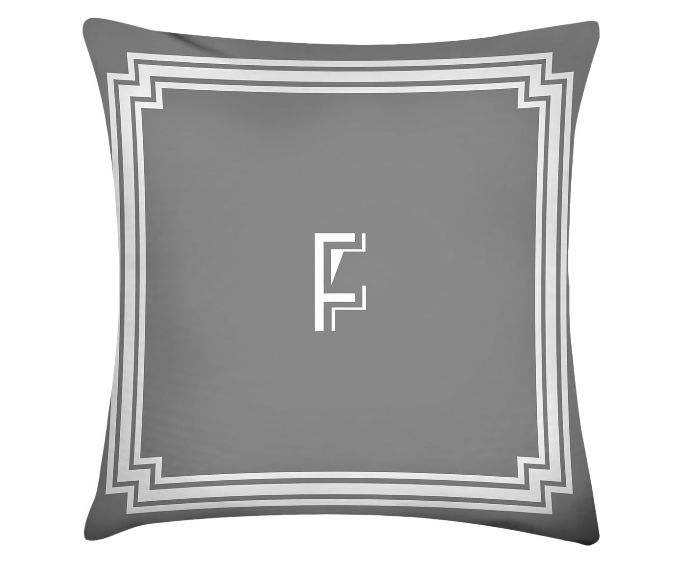 Almofada Letter F - 45x45cm | Westwing.com.br