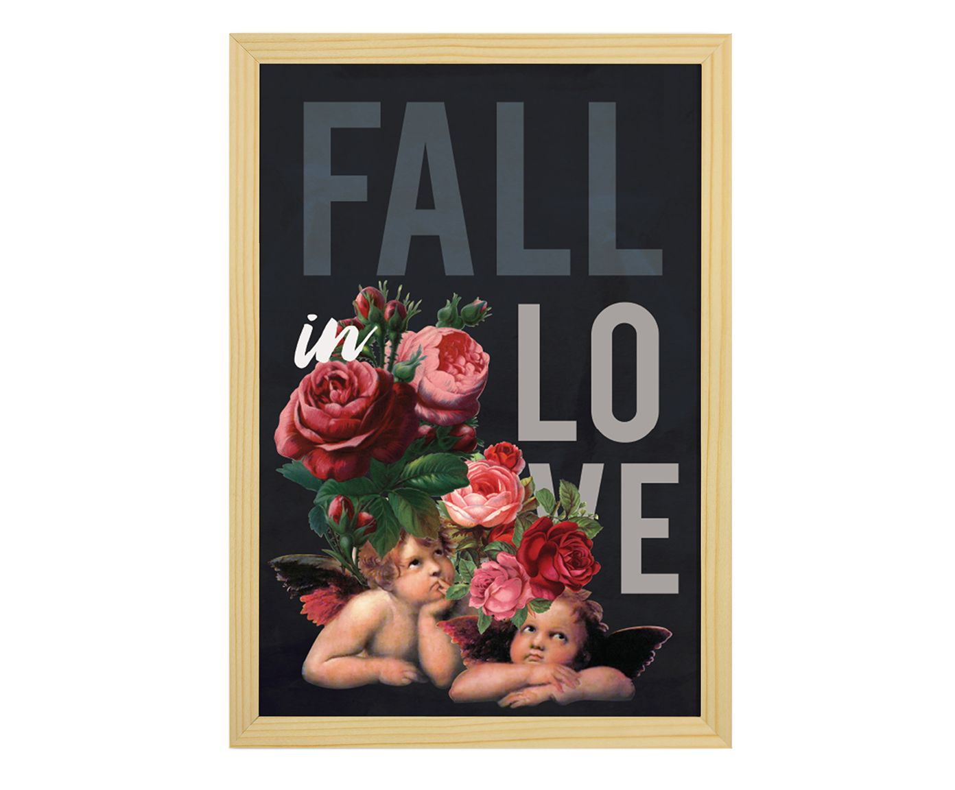 Quadro Fall In Love - 33X47cm | Westwing.com.br
