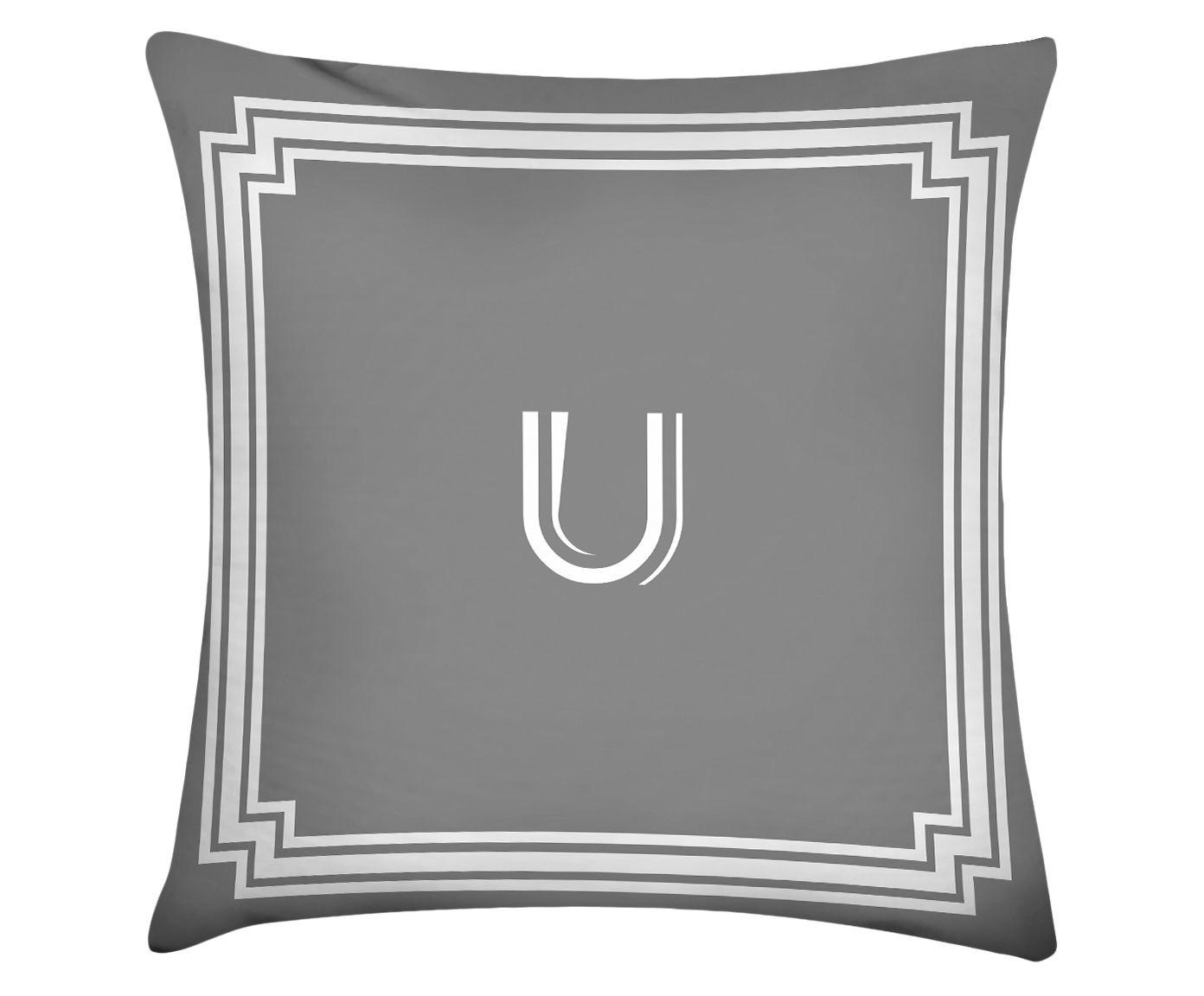 Almofada Letter U - 45x45cm | Westwing.com.br