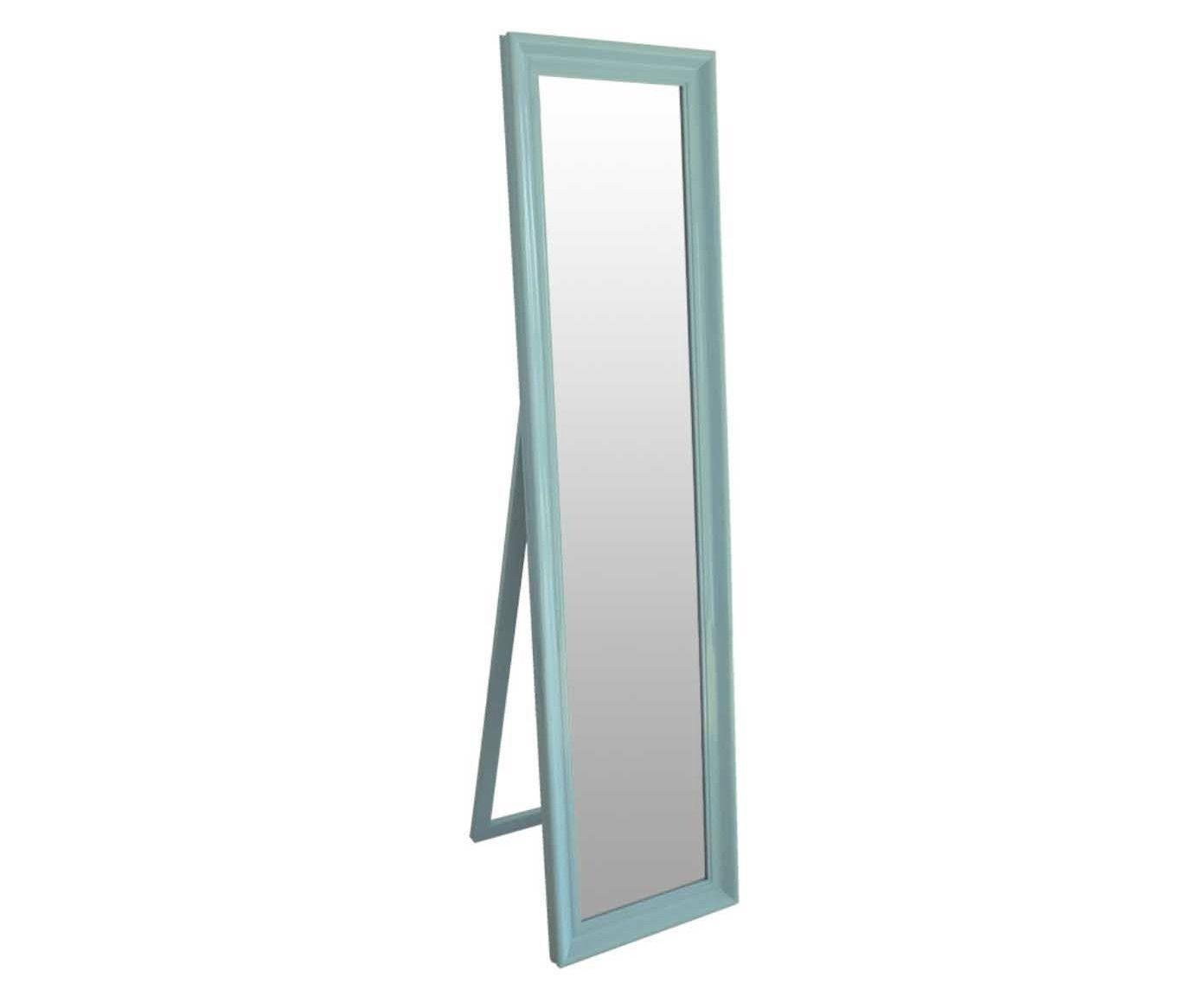 Espelho de Piso Classic Frame Azul - 43,5x164cm | Westwing.com.br