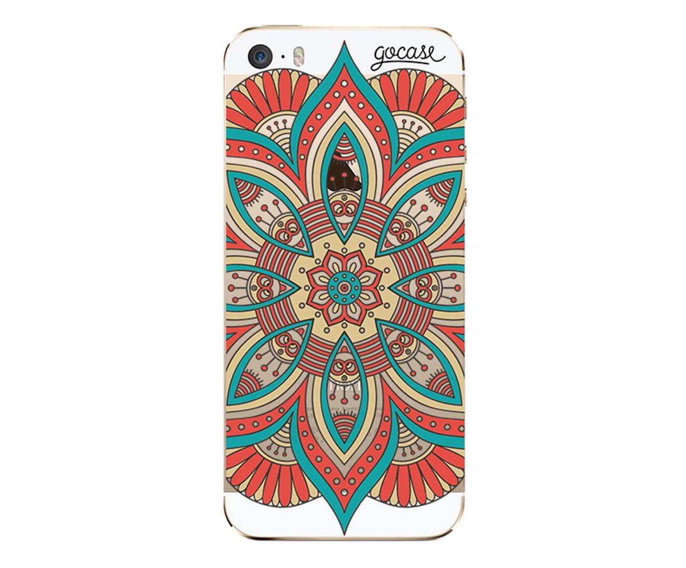 Case Red Mandala - Para iPhone 5C | Westwing.com.br