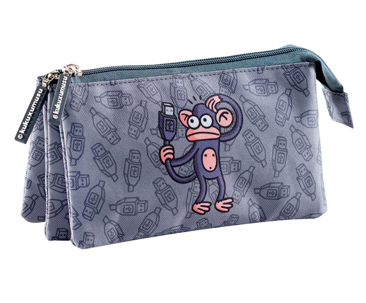 Estojo Triple Usb Monkey   Westwing.com.br