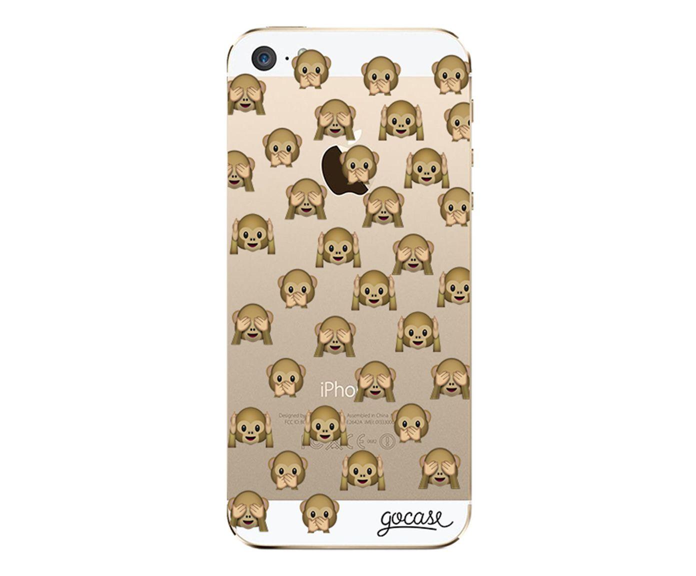 Case Segredo Dos Macacos - Para iPhone 5/5S | Westwing.com.br