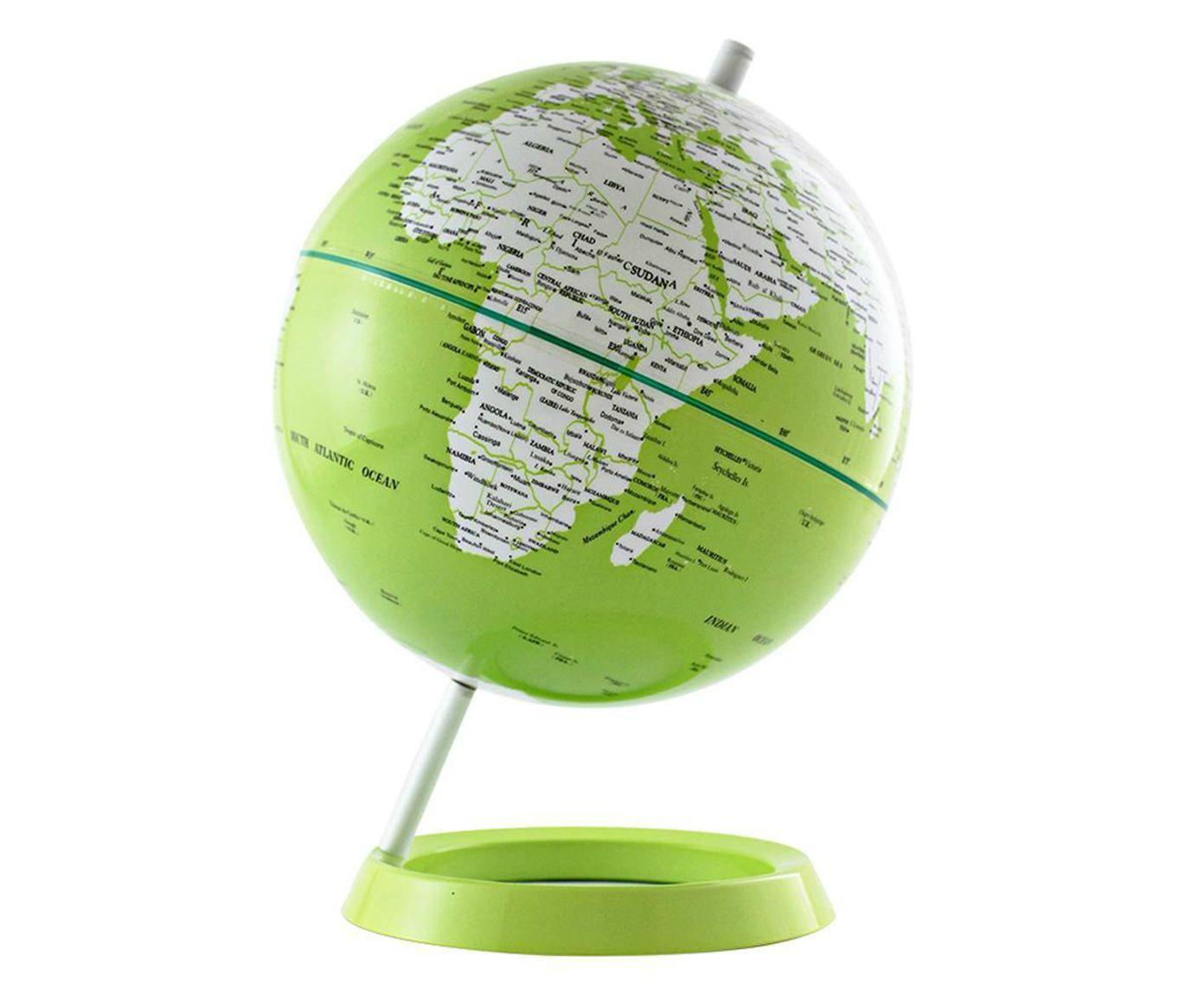 Globo Mundi Verde - 25cm   Westwing.com.br