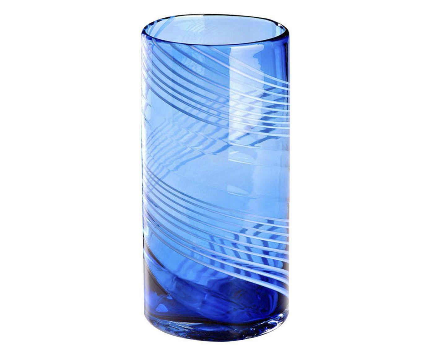 Vaso Agraba Azul - 27cm | Westwing.com.br