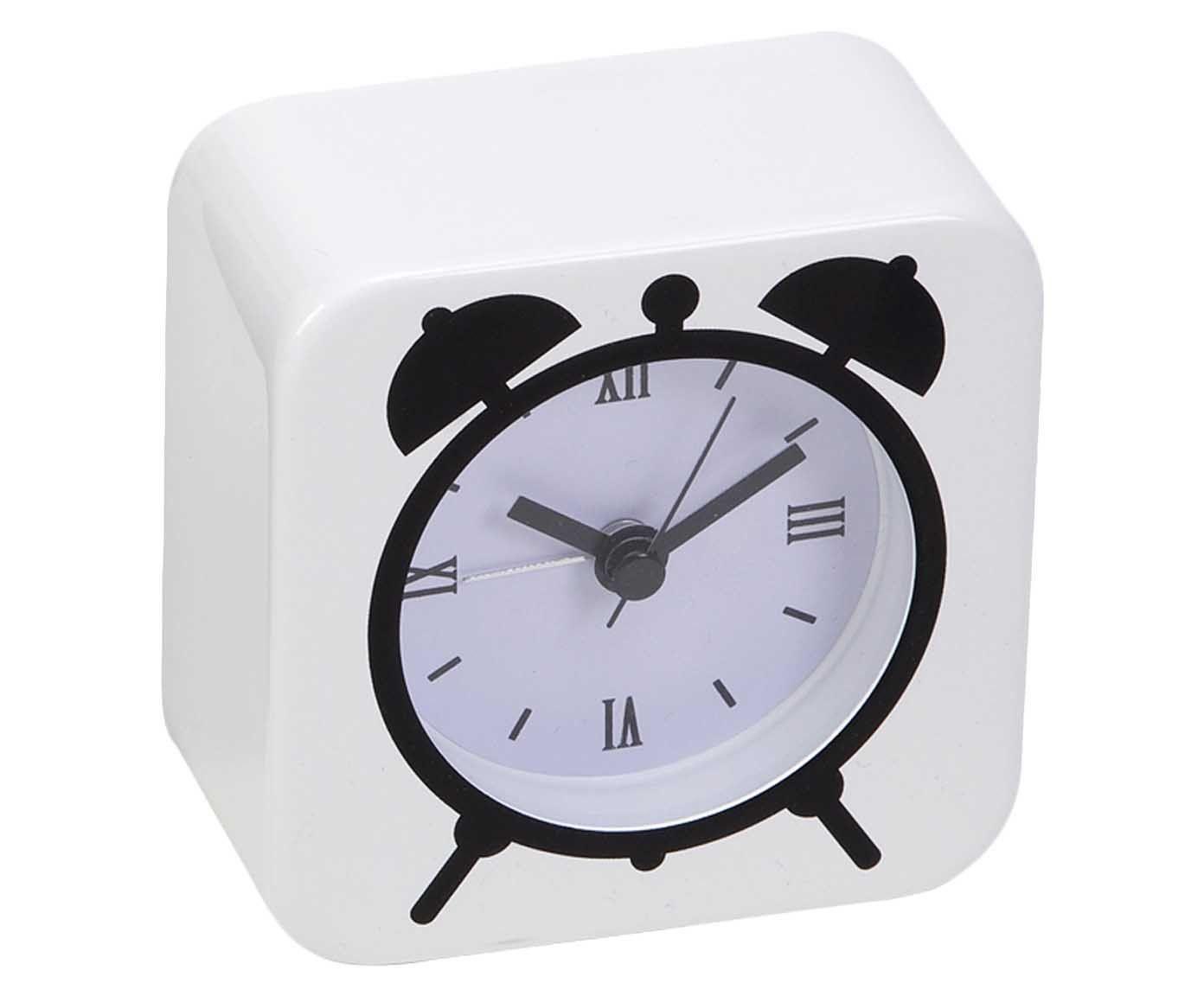 Relógio Despertador Duclok - Branco | Westwing.com.br