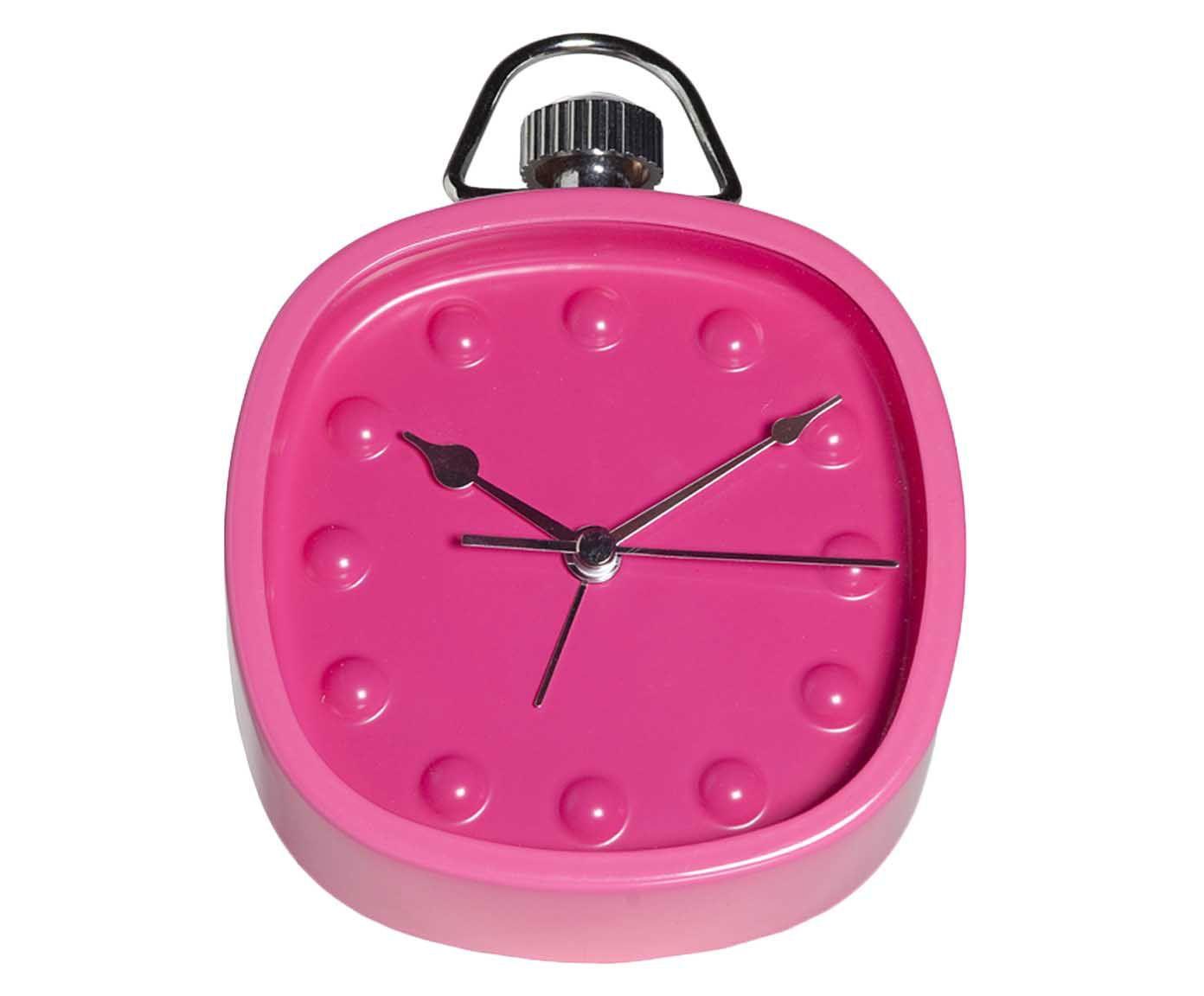 Relógio Despertador Celic - Rosa   Westwing.com.br