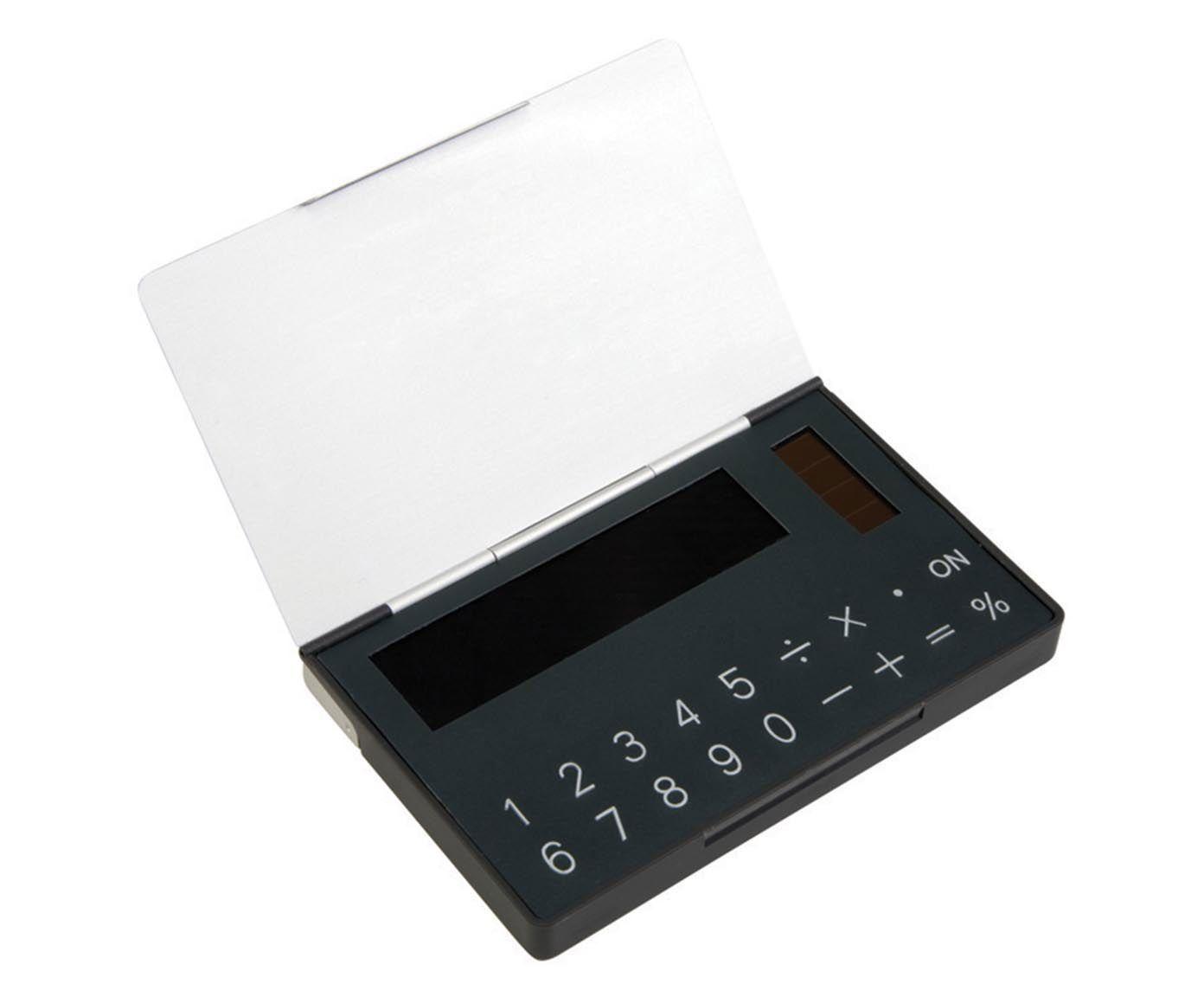 Porta-Cartão com Calculadora Solar Gates   Westwing.com.br