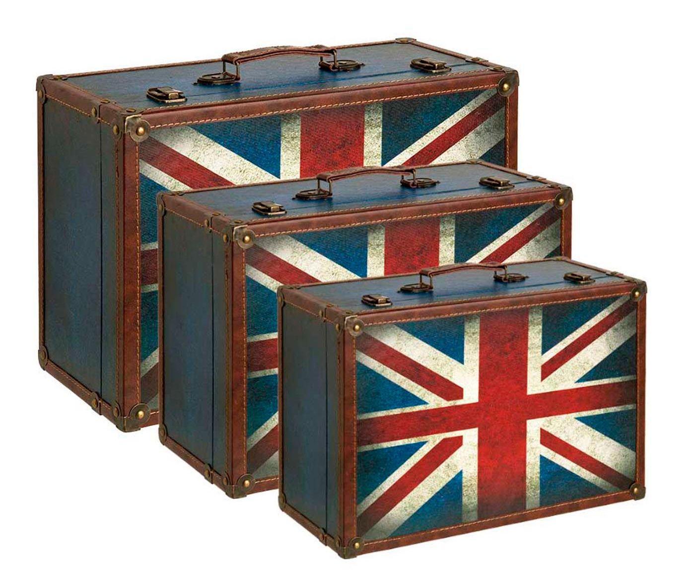 Jogo de Maletas England Flag | Westwing.com.br