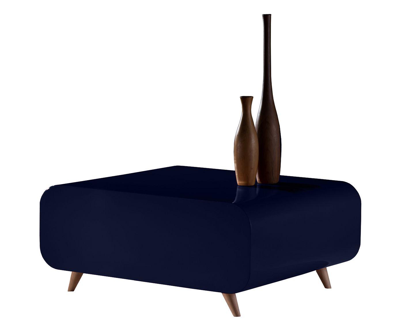 Mesa de Centro Baú - Jeans   Westwing.com.br
