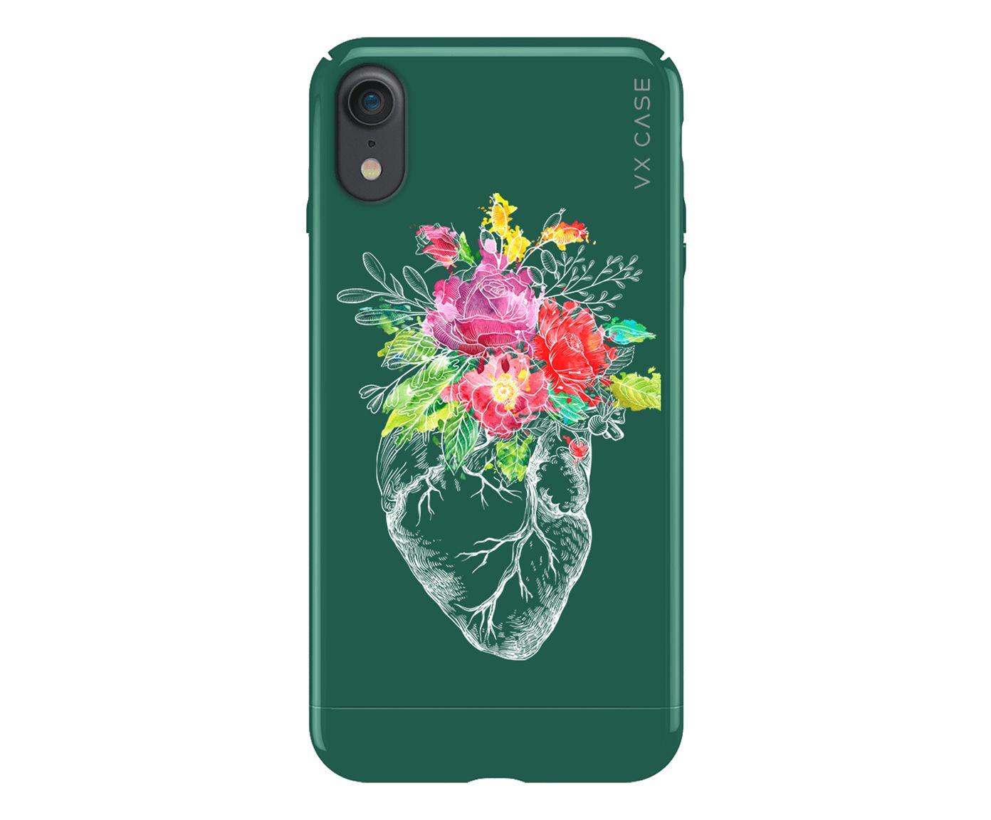 Capa Envernizada Vx Case Iphone 7/8/Se2 Sping Garden