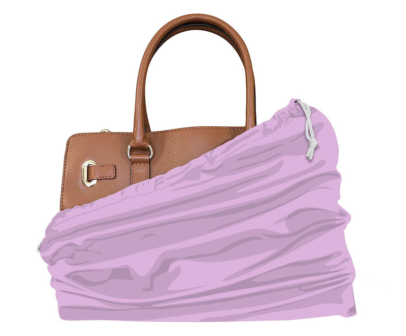 Saco para Bolsa Leli Rosa - 34X40cm | Westwing.com.br