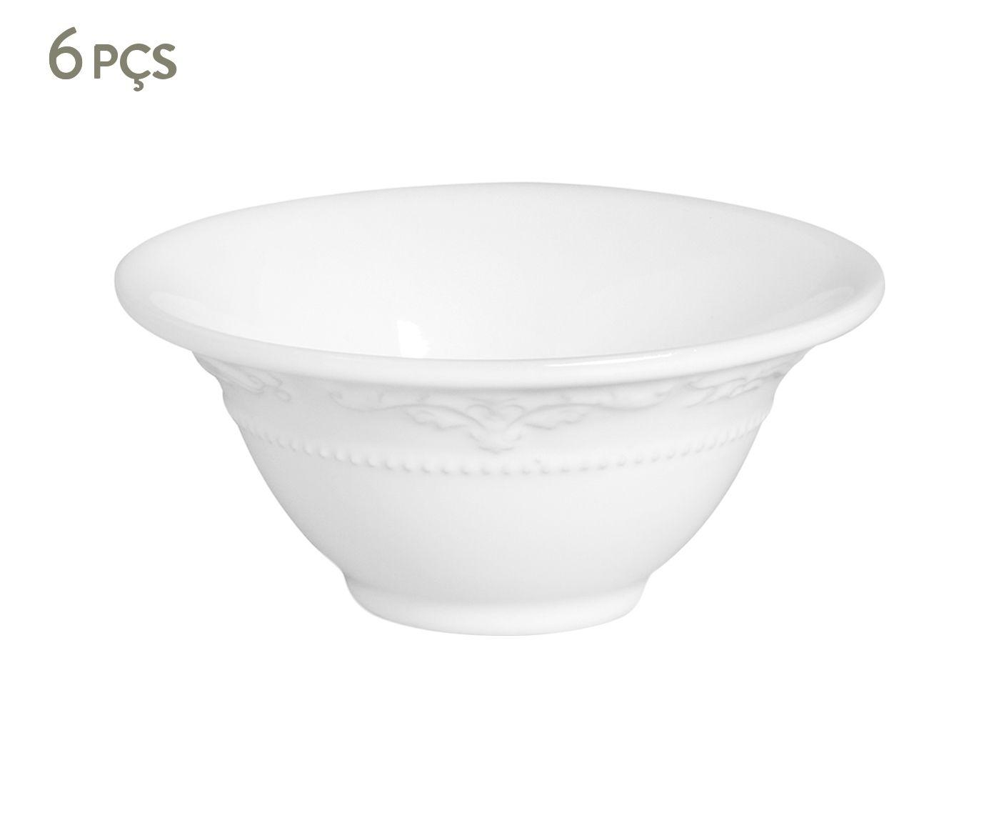 Jogo de Bowls Acanthus Branco - 15,5cm | Westwing.com.br