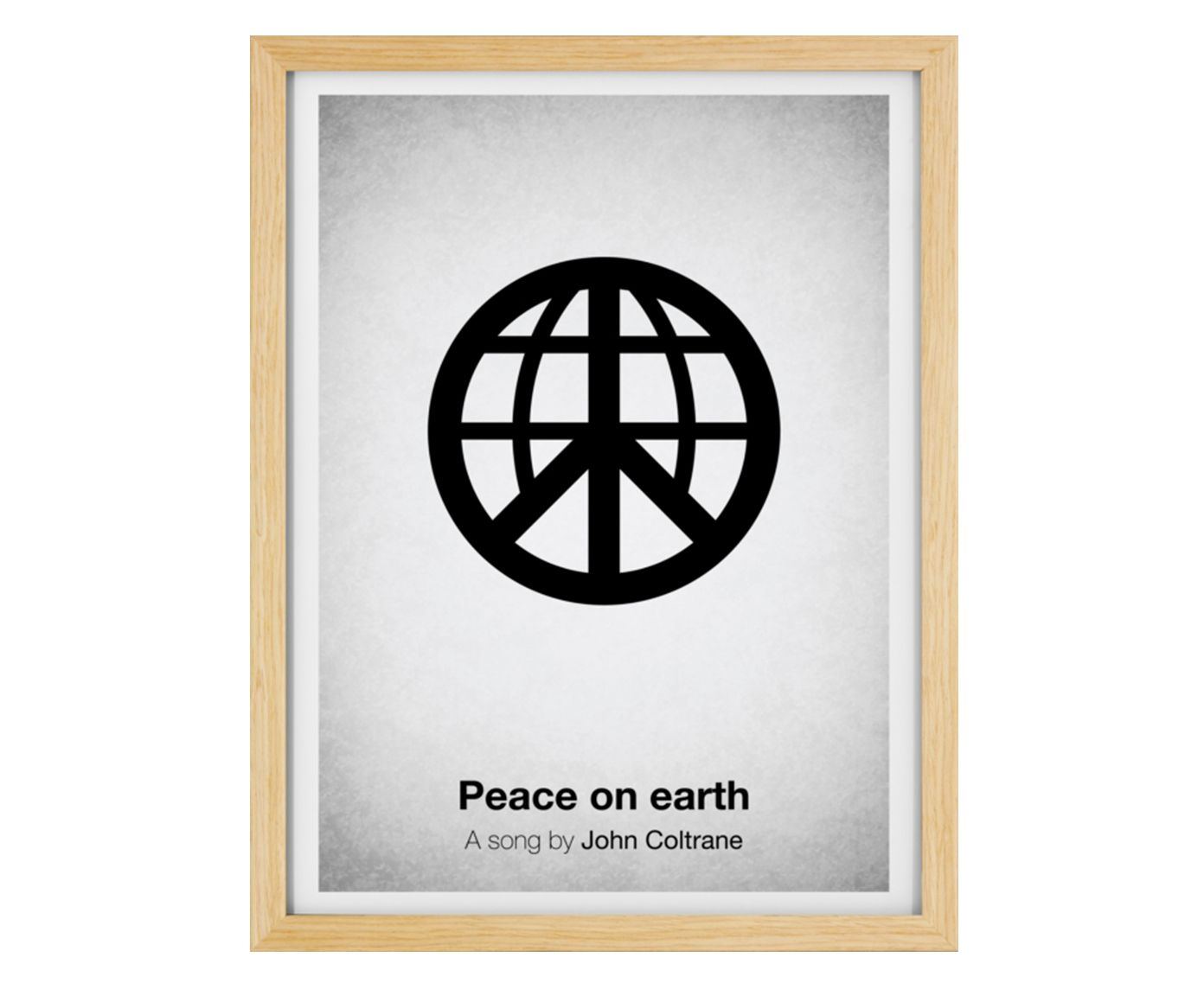 Quadro Peace On Earth - 33x43cm | Westwing.com.br