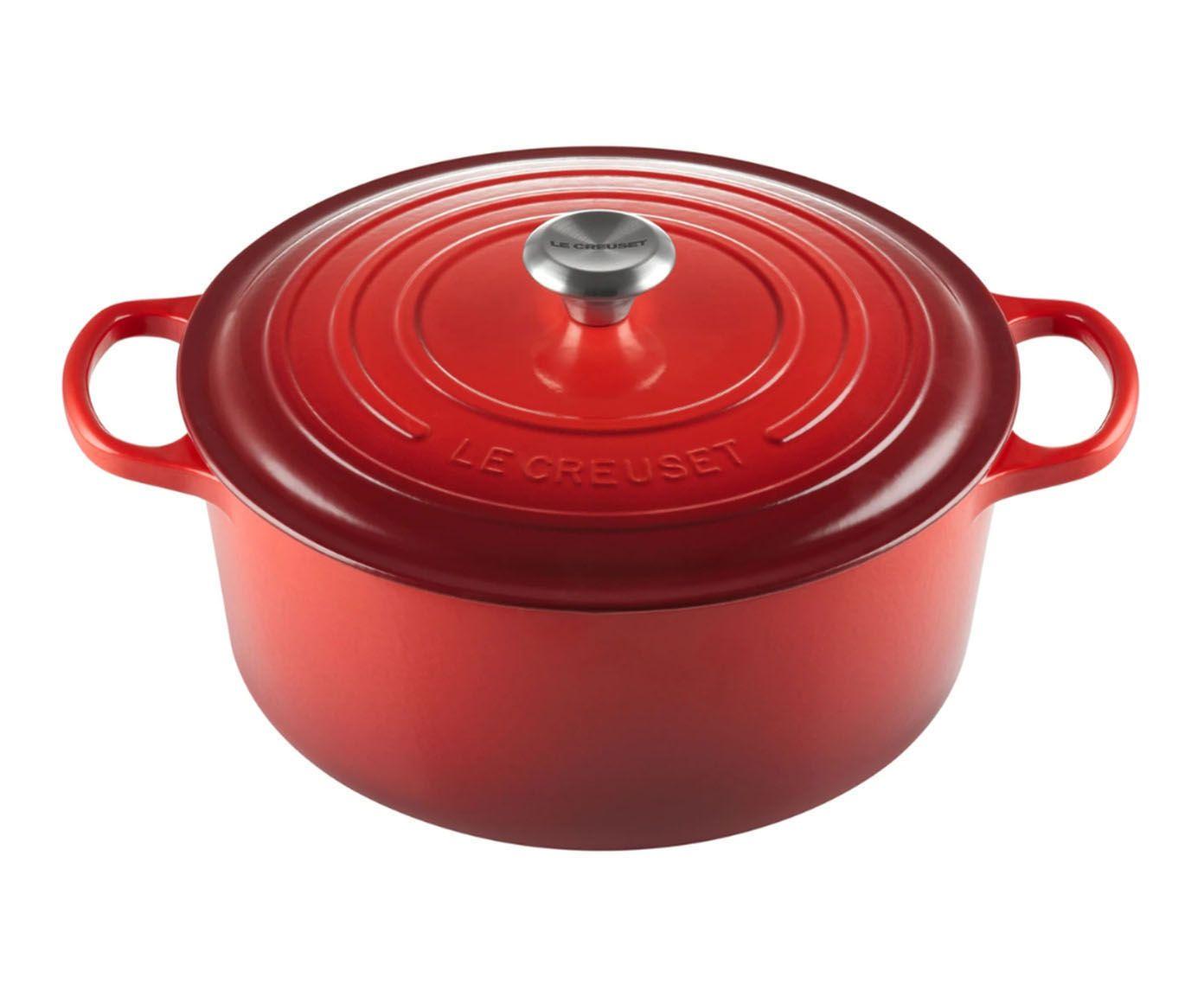 Panela Redonda Signature Vermelha - 4,2L   Westwing.com.br