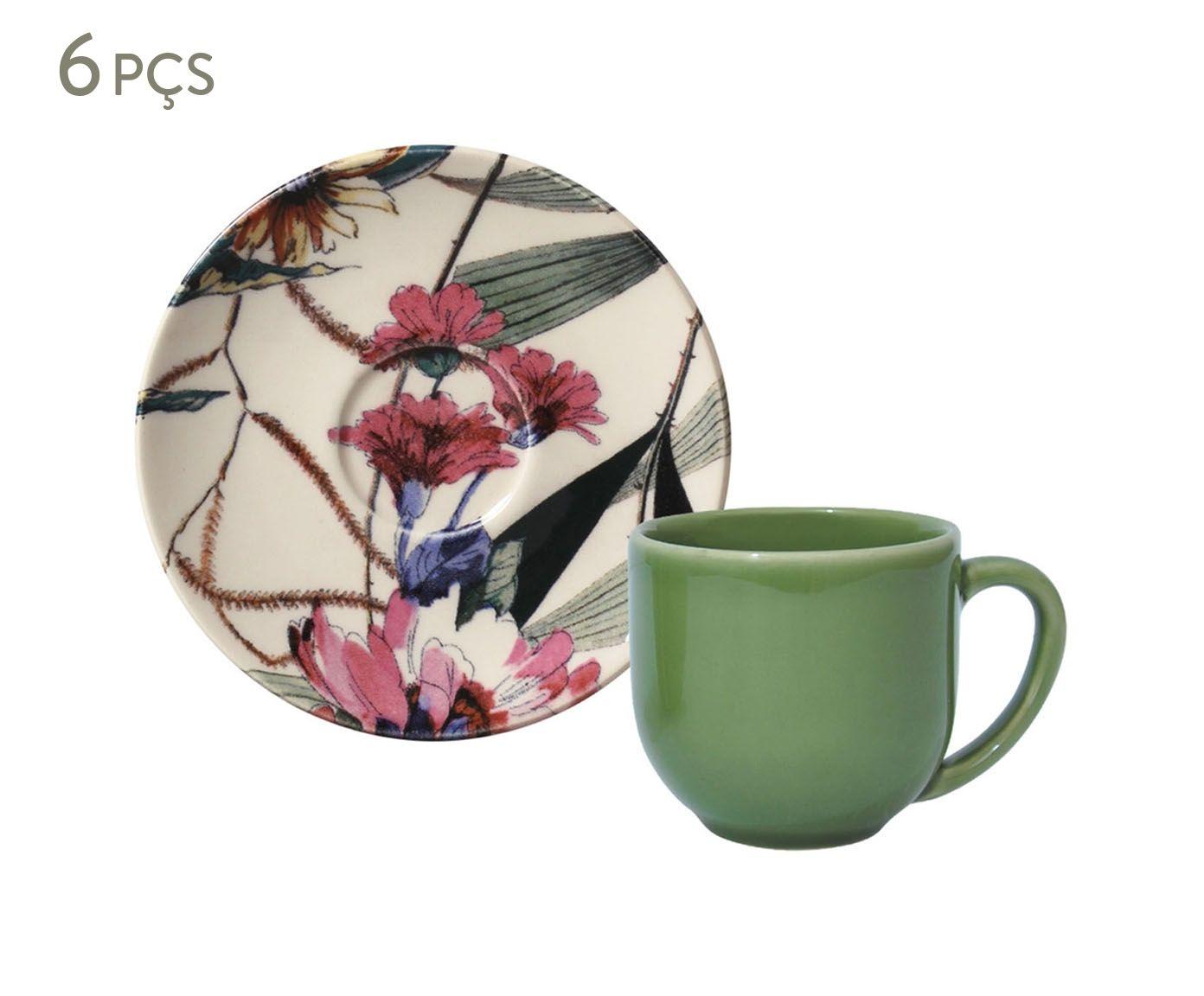 Jogo de Xícaras para Café com Pires Coup Vitae - 112ml | Westwing.com.br