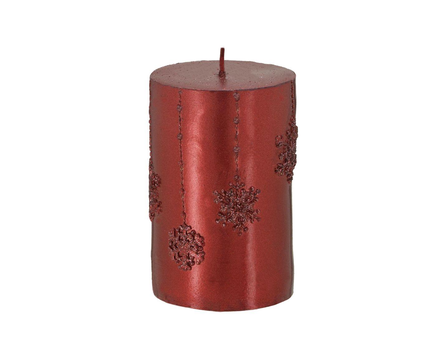 Vela Patnos Vermelha - 10,5X6,5cm   Westwing.com.br