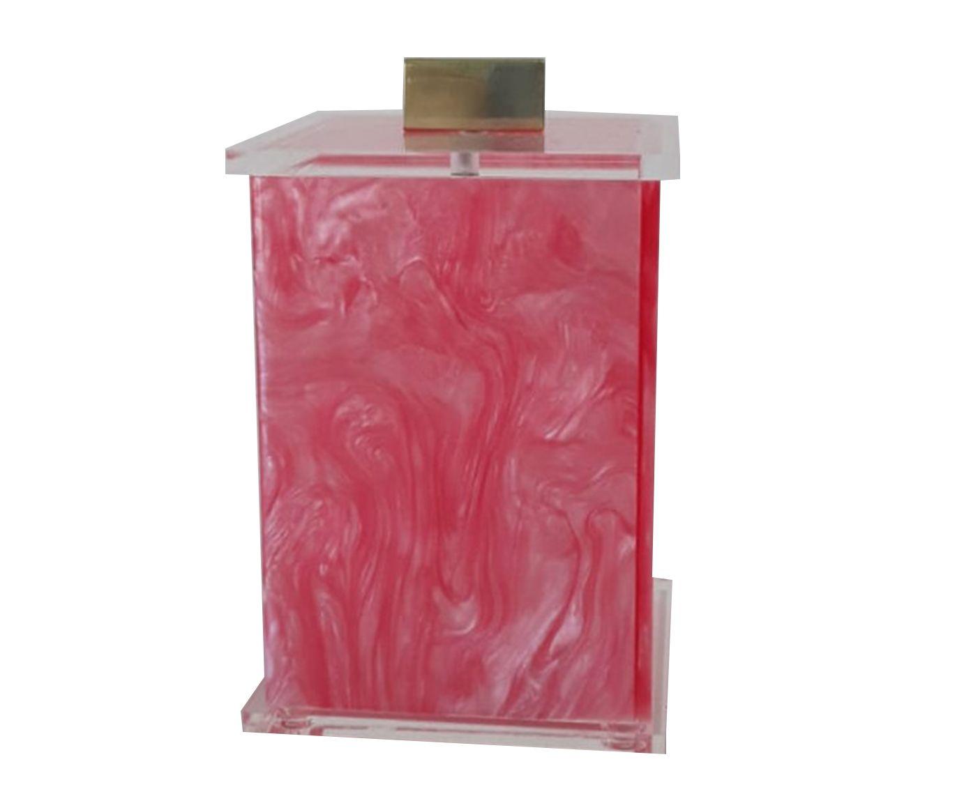 Pote Decorativo Elegance Charm Rosa Gold - 7X7cm | Westwing.com.br