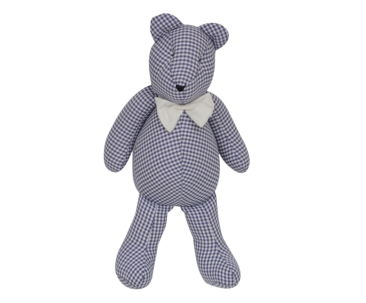 Boneco Urso Teddy - Azul Marinho | Westwing.com.br