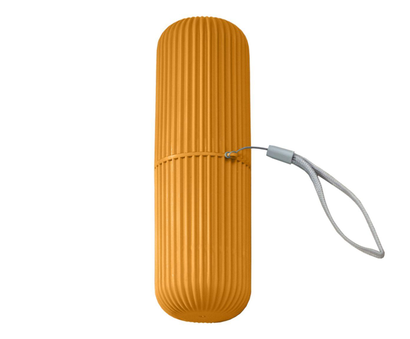 Estojo Multiuso para Viagem Oikos Mostarda - 19cm | Westwing.com.br