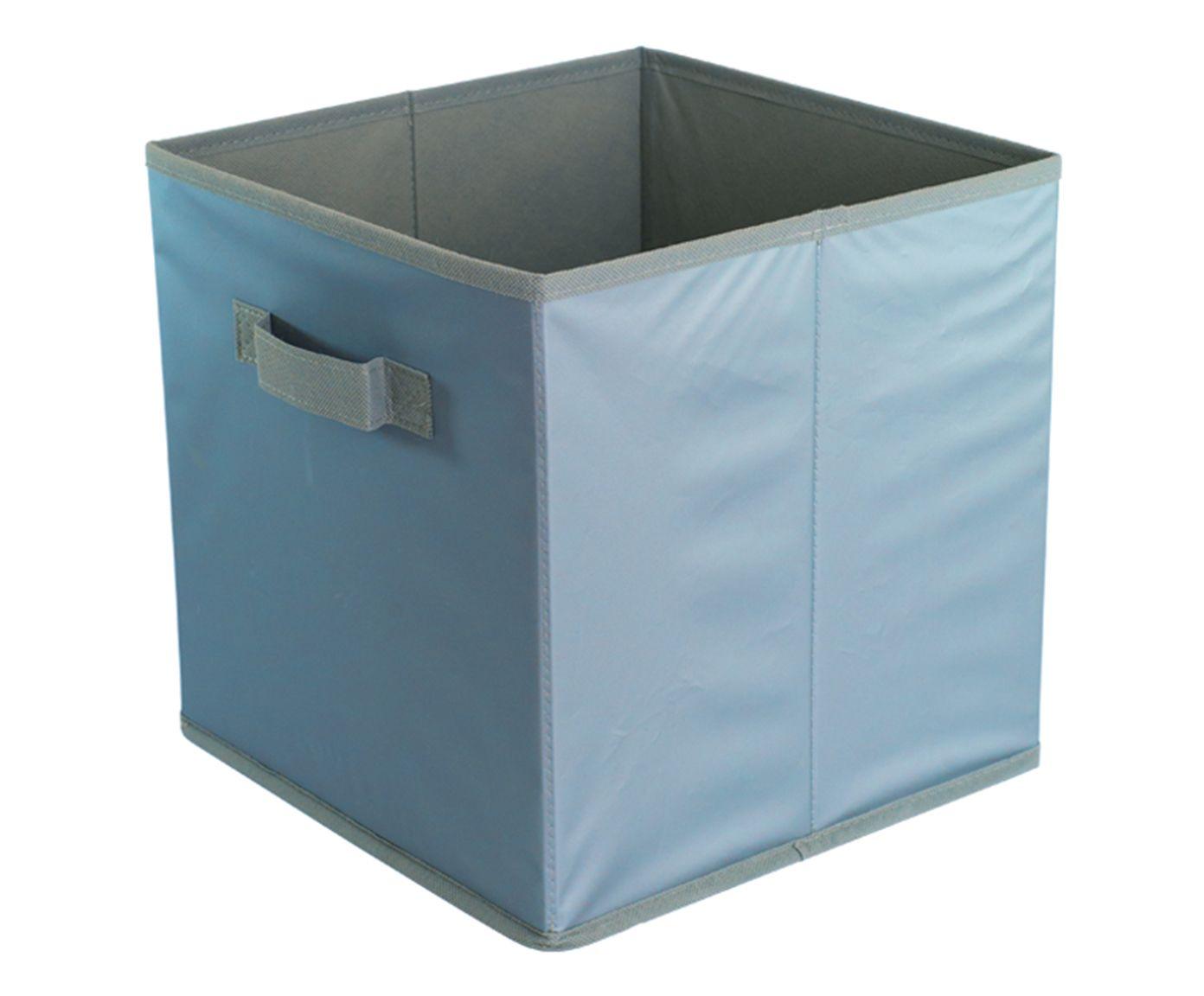 Organizador Dobrável Oikos Azul - 27X27cm | Westwing.com.br