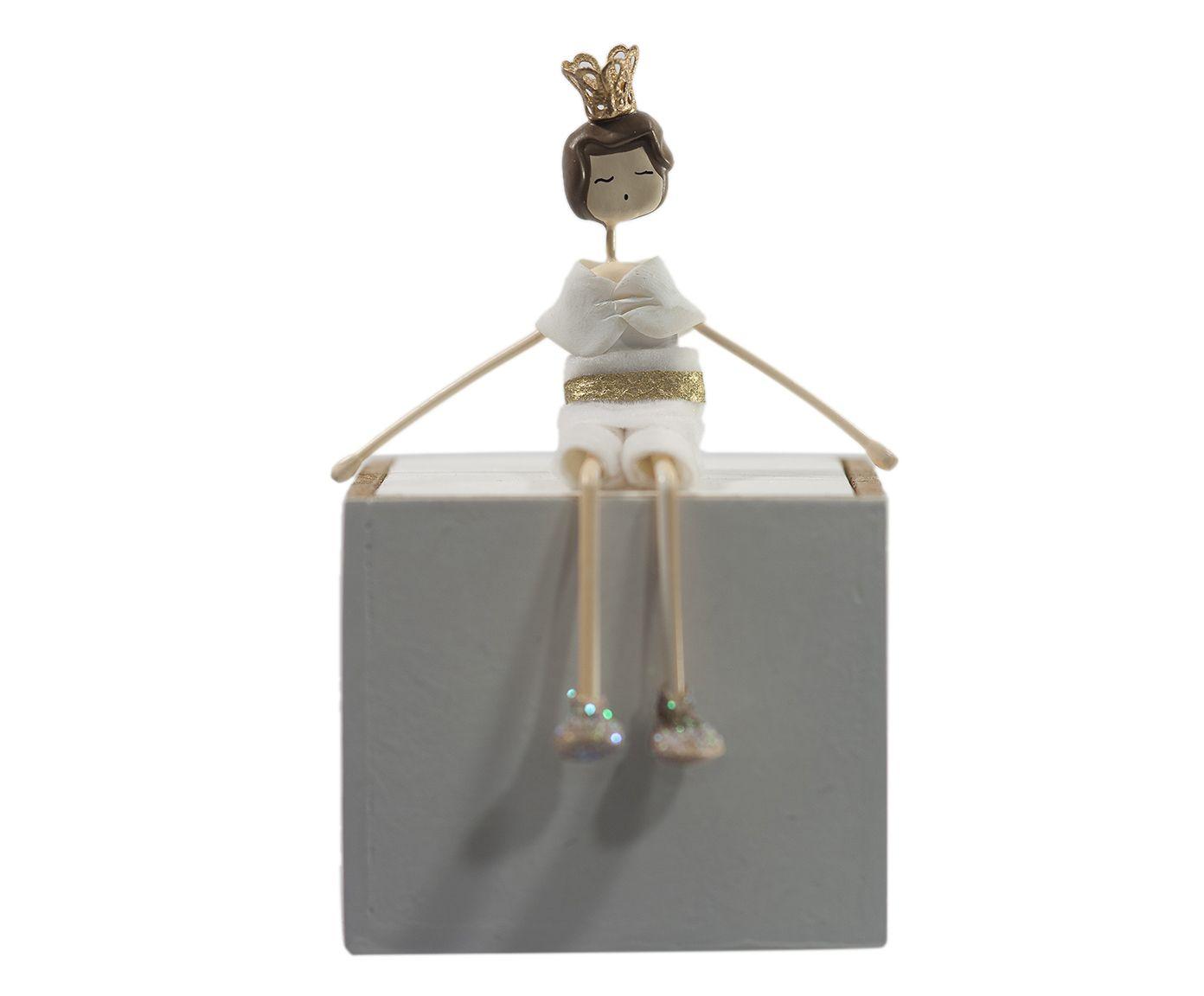 Caixa Decorativa Principe Branca - 06x06cm   Westwing.com.br