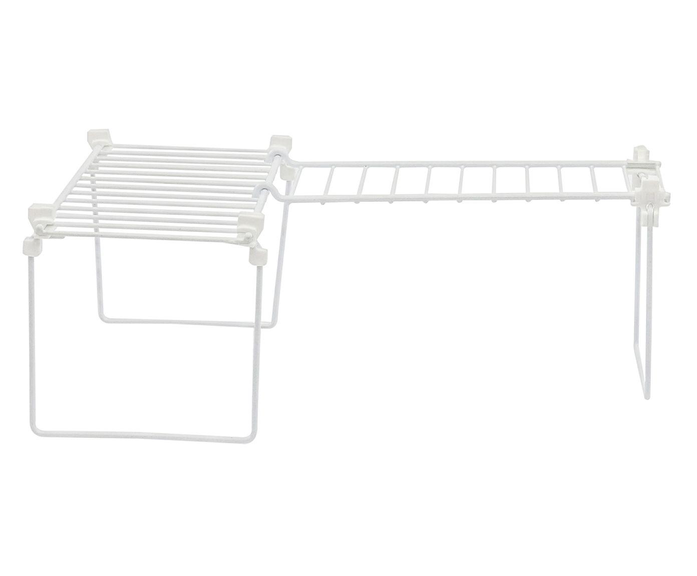 Prateleira para Bancada para Canto Norca Branca - 39X15X26cm | Westwing.com.br