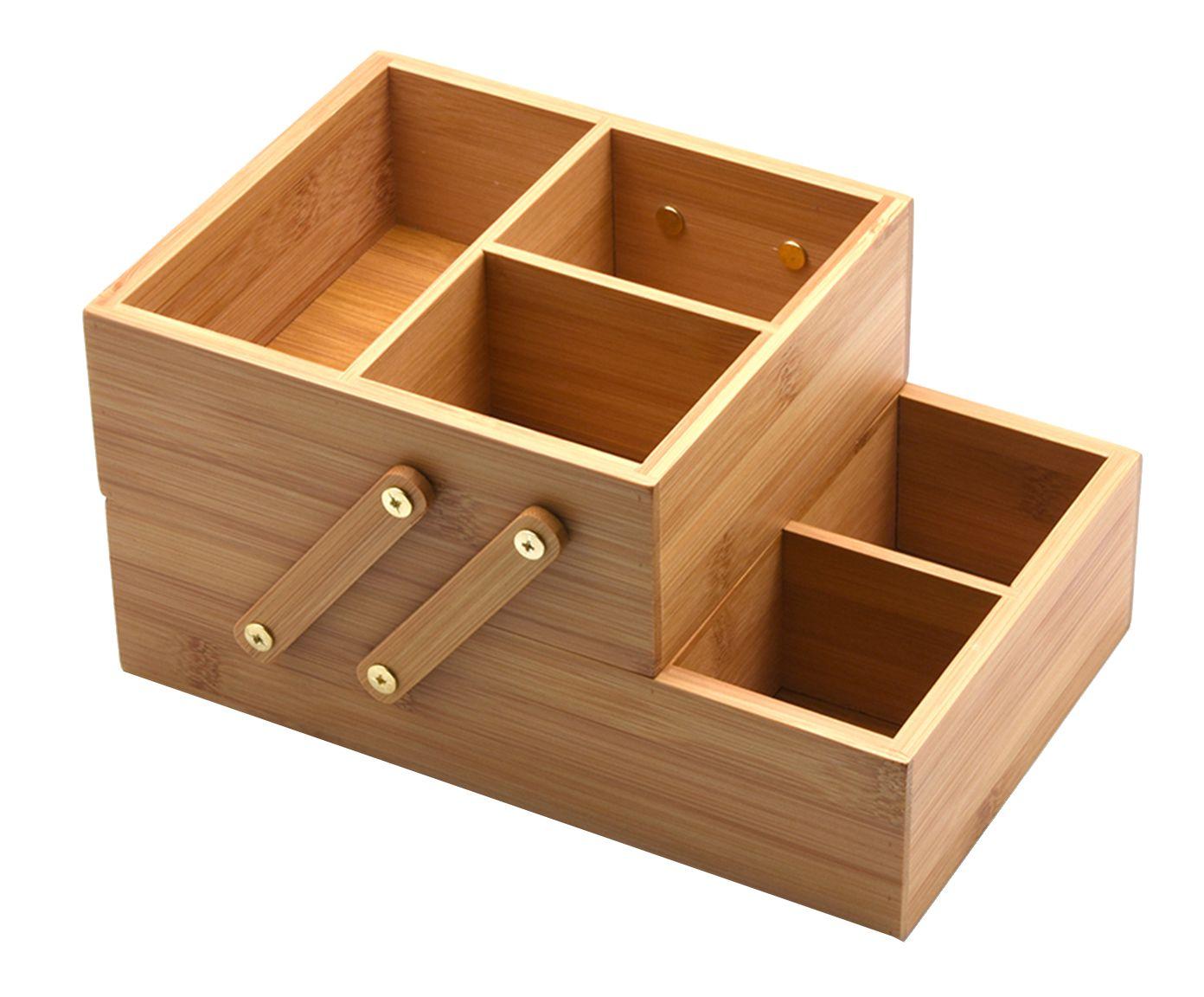 Caixa Organizadora Due Bamboo - 36X16cm | Westwing.com.br