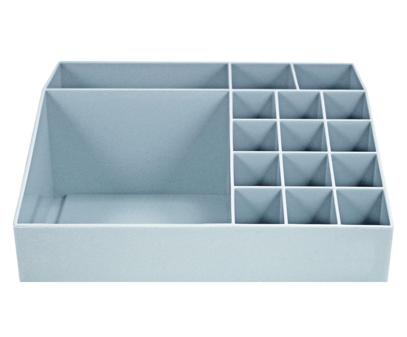 Organizador Multiuso Martins Azul - 20X7,5X17,5cm | Westwing.com.br