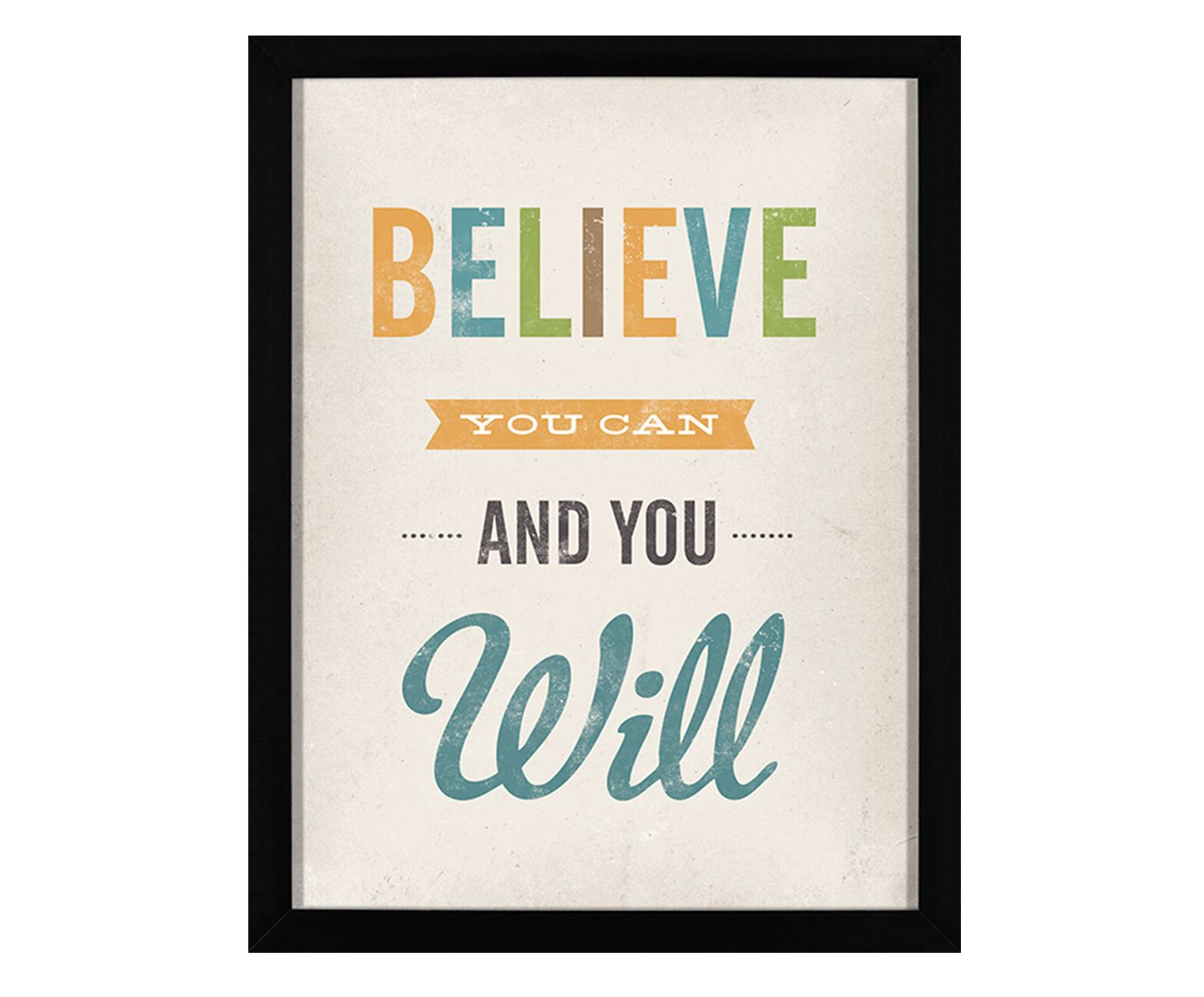 Quadro And You Will - 34x44cm | Westwing.com.br