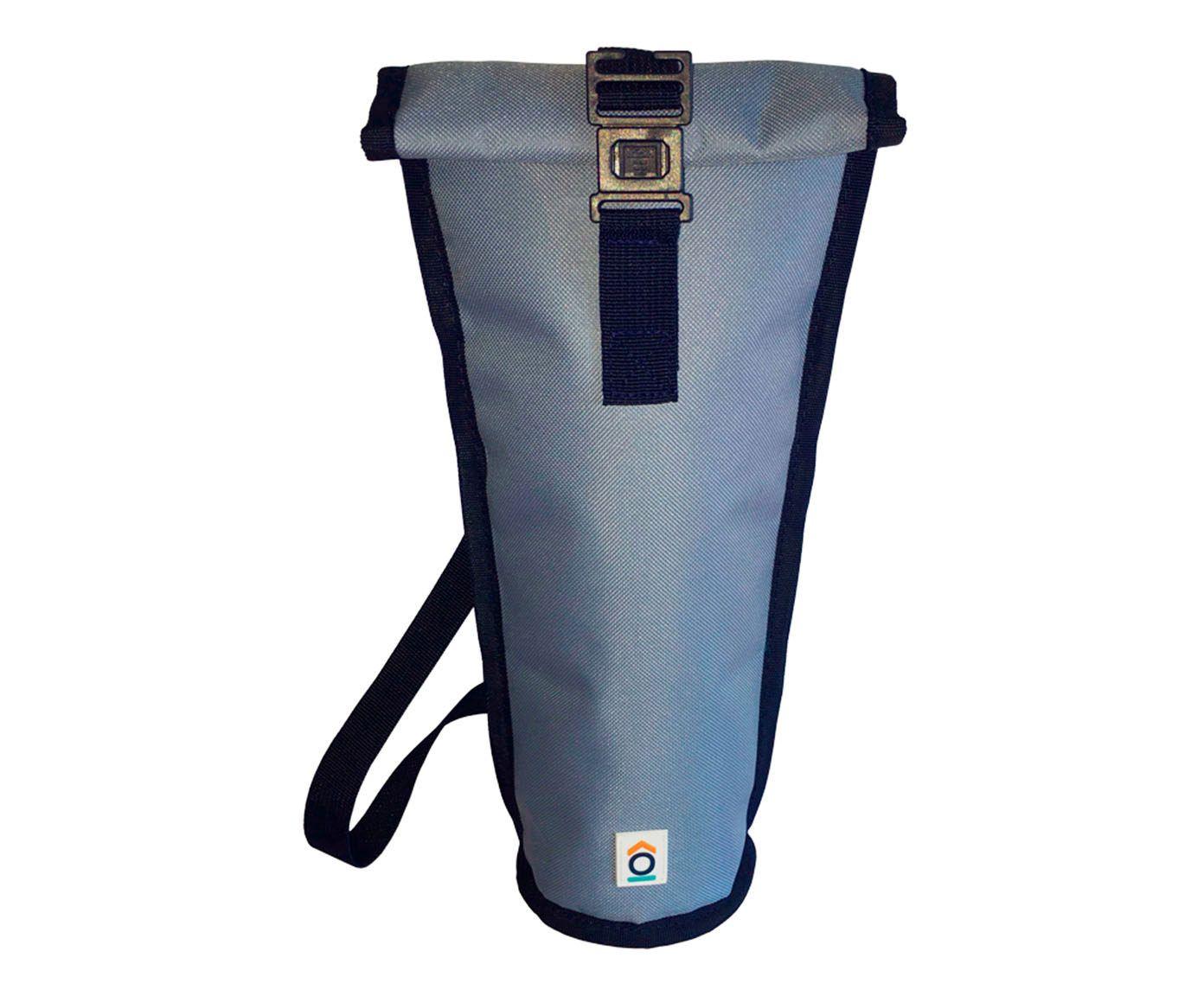 Bolsa Térmica Congelável para Garrafas Doux Azul - 13,5X38cm   Westwing.com.br