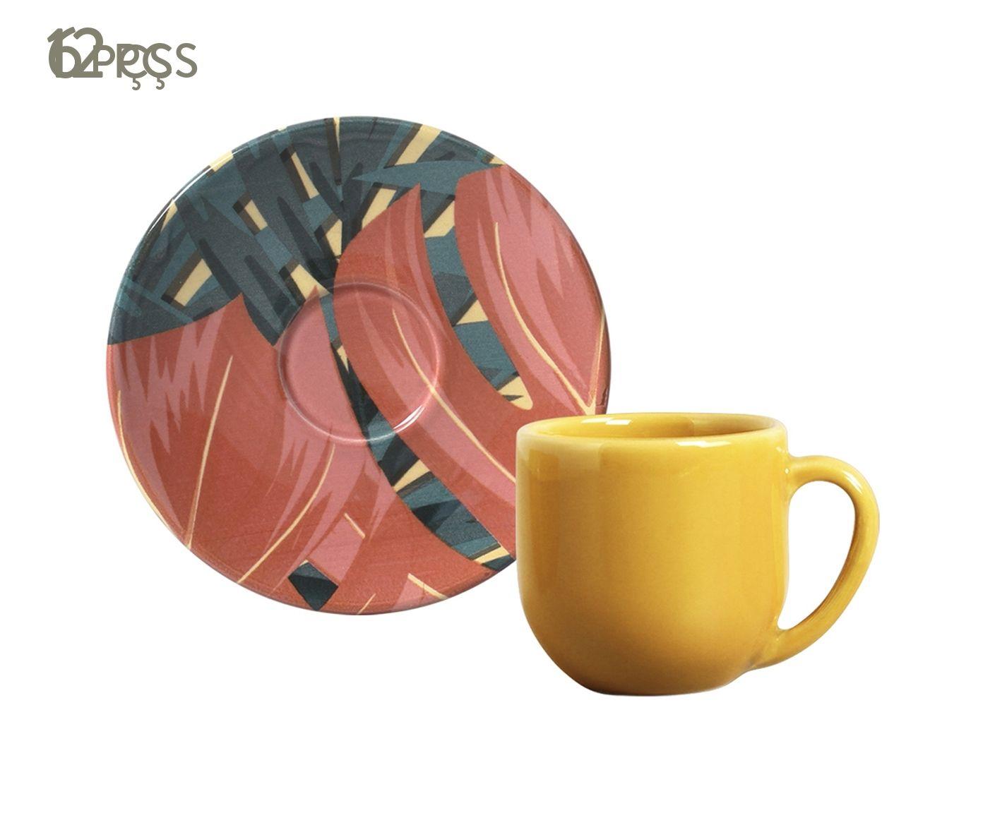 Jogo de Xícaras para Café com Pires Coup Sumatra - 112ml | Westwing.com.br