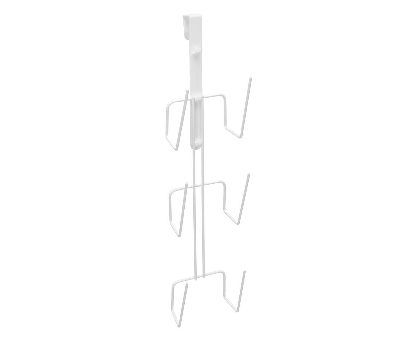 Suporte para Tampas Ualking Branco - 10X40X7,5cm | Westwing.com.br