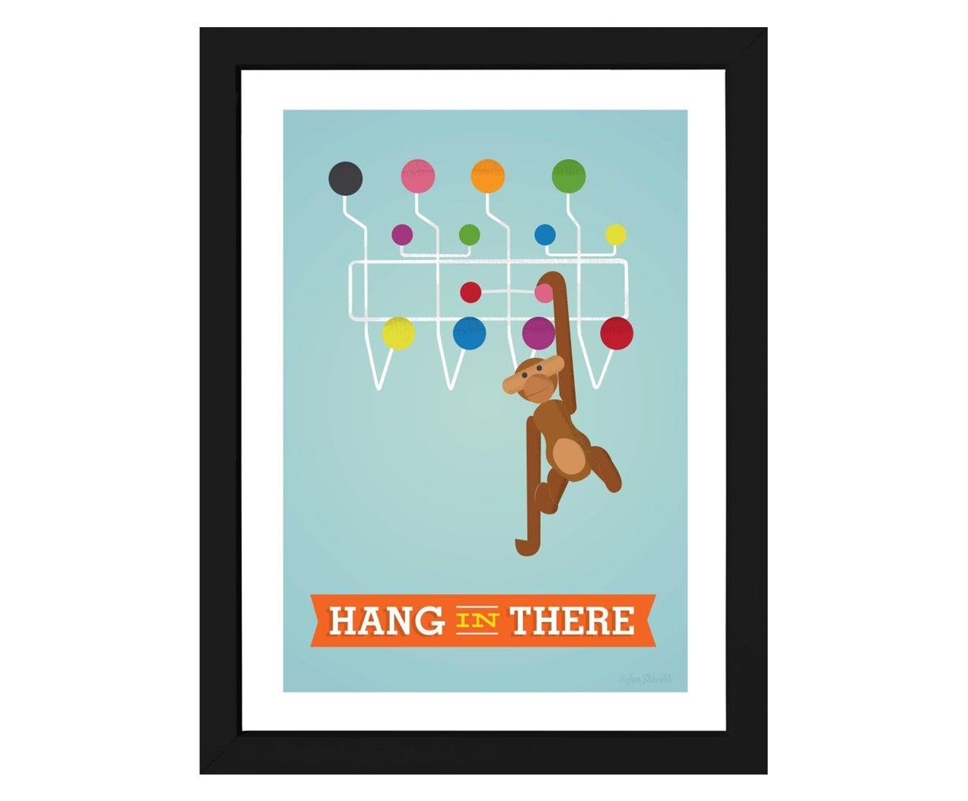 Quadro Hang In There - 34x44cm | Westwing.com.br