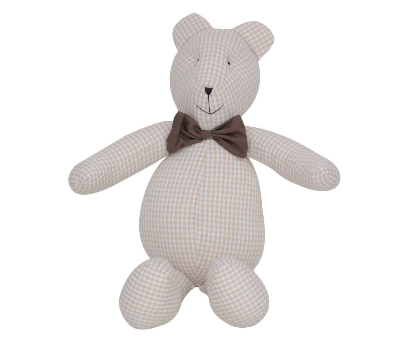 Boneco Urso Teddy - Bege   Westwing.com.br
