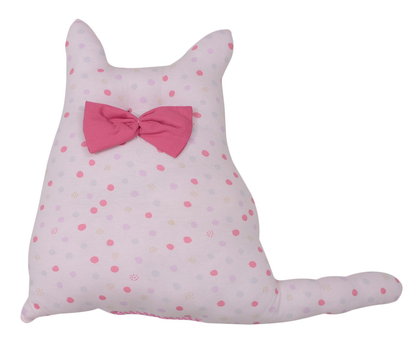 Almofada Cat Points Rosa - 50x40cm   Westwing.com.br